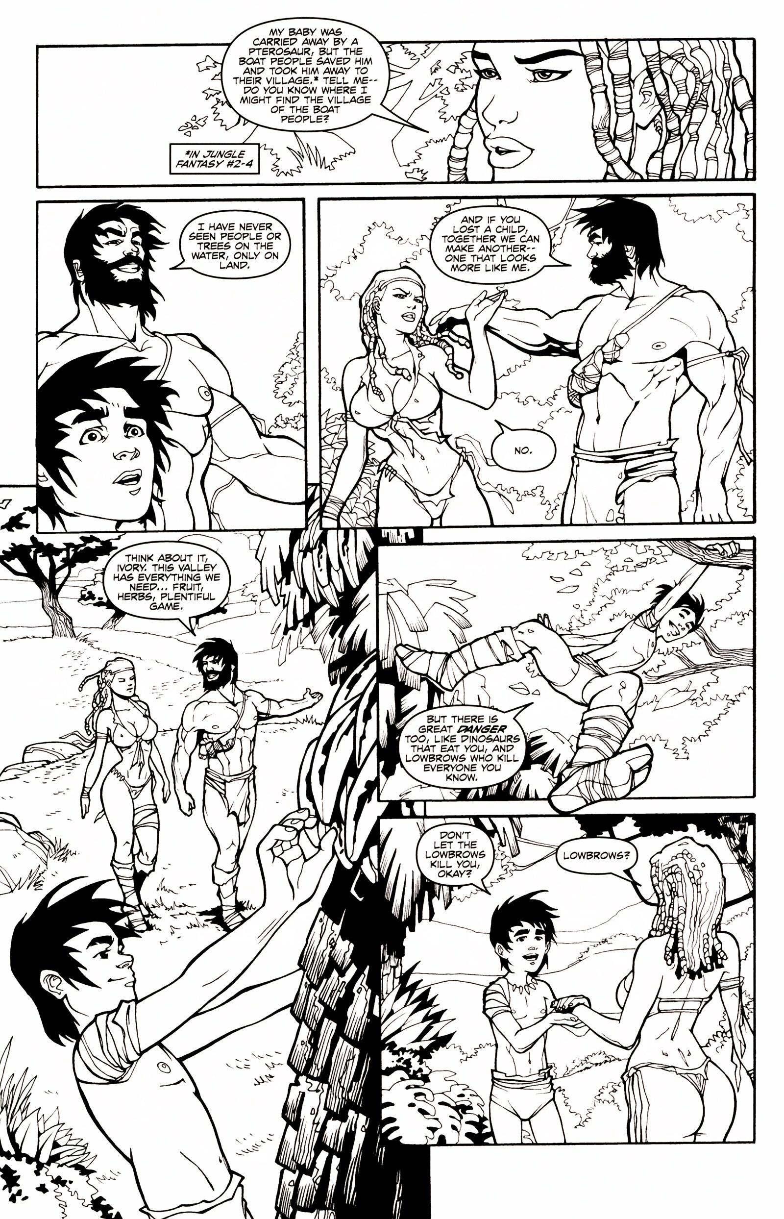 Read online Jungle Fantasy (2002) comic -  Issue # _Annual 1 - 12