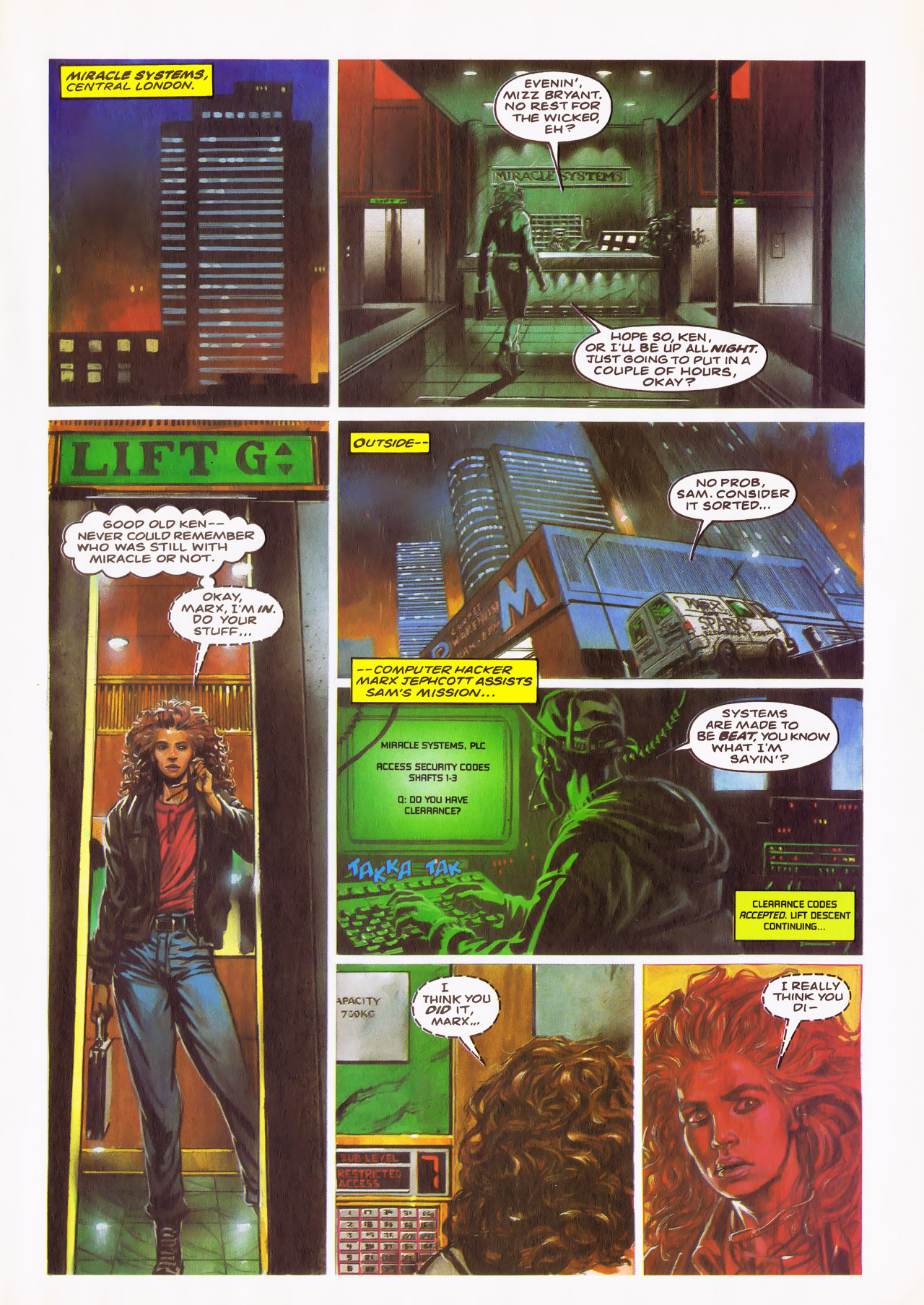 Read online Overkill comic -  Issue #24 - 11