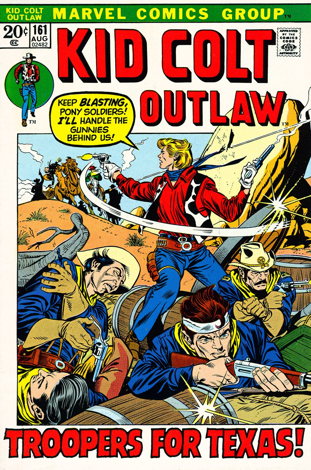 Kid Colt Outlaw issue 161 - Page 1