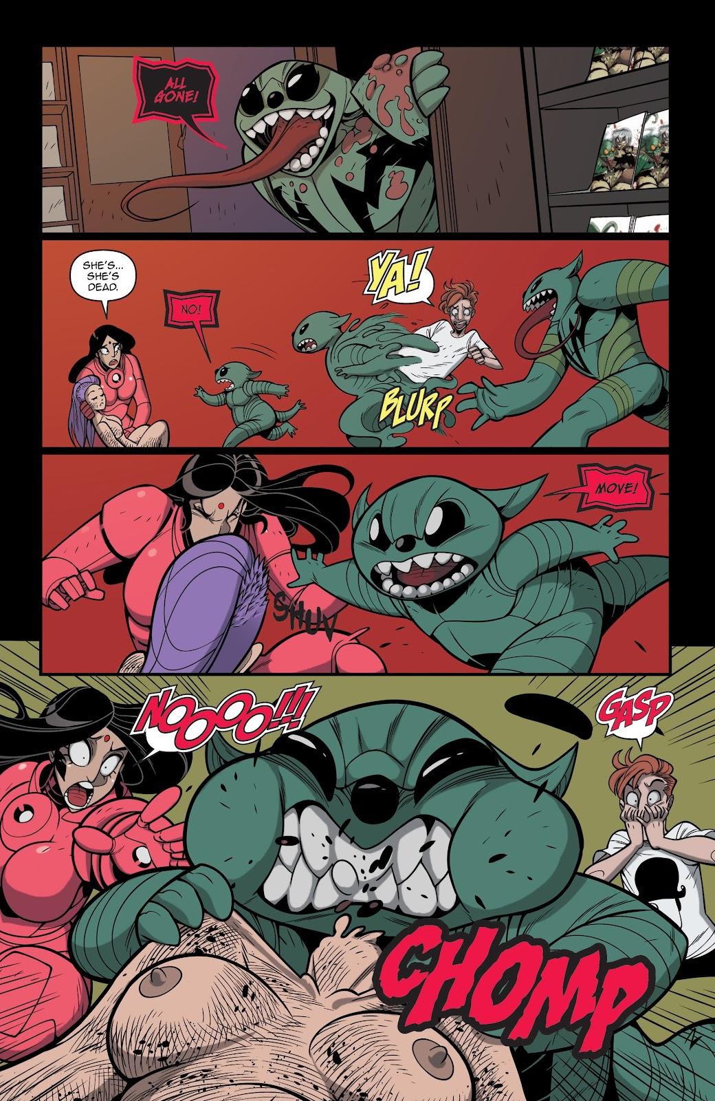 Read online Vampblade Season 3 comic -  Issue #12 - 24