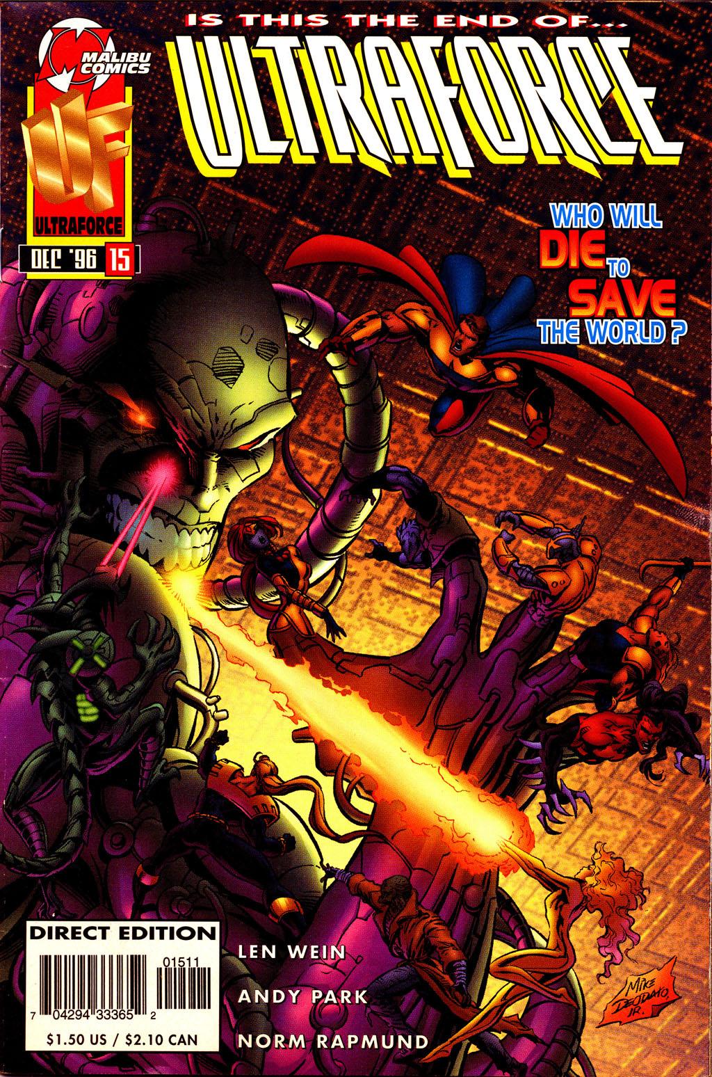 Read online UltraForce (1995) comic -  Issue #15 - 1