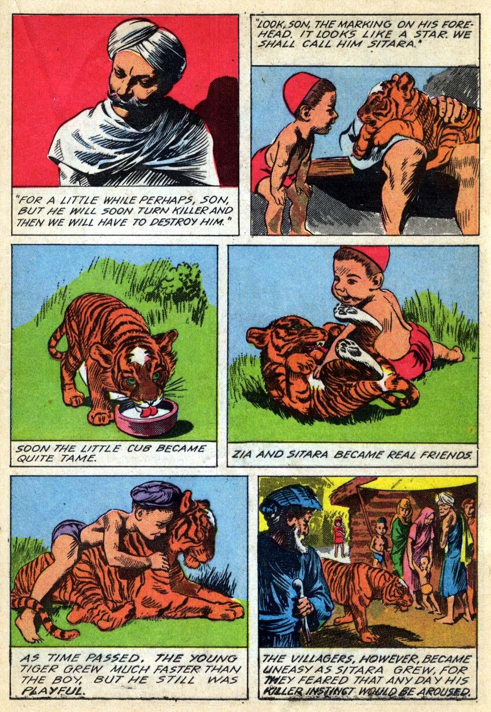 Read online Animal Comics comic -  Issue #22 - 35