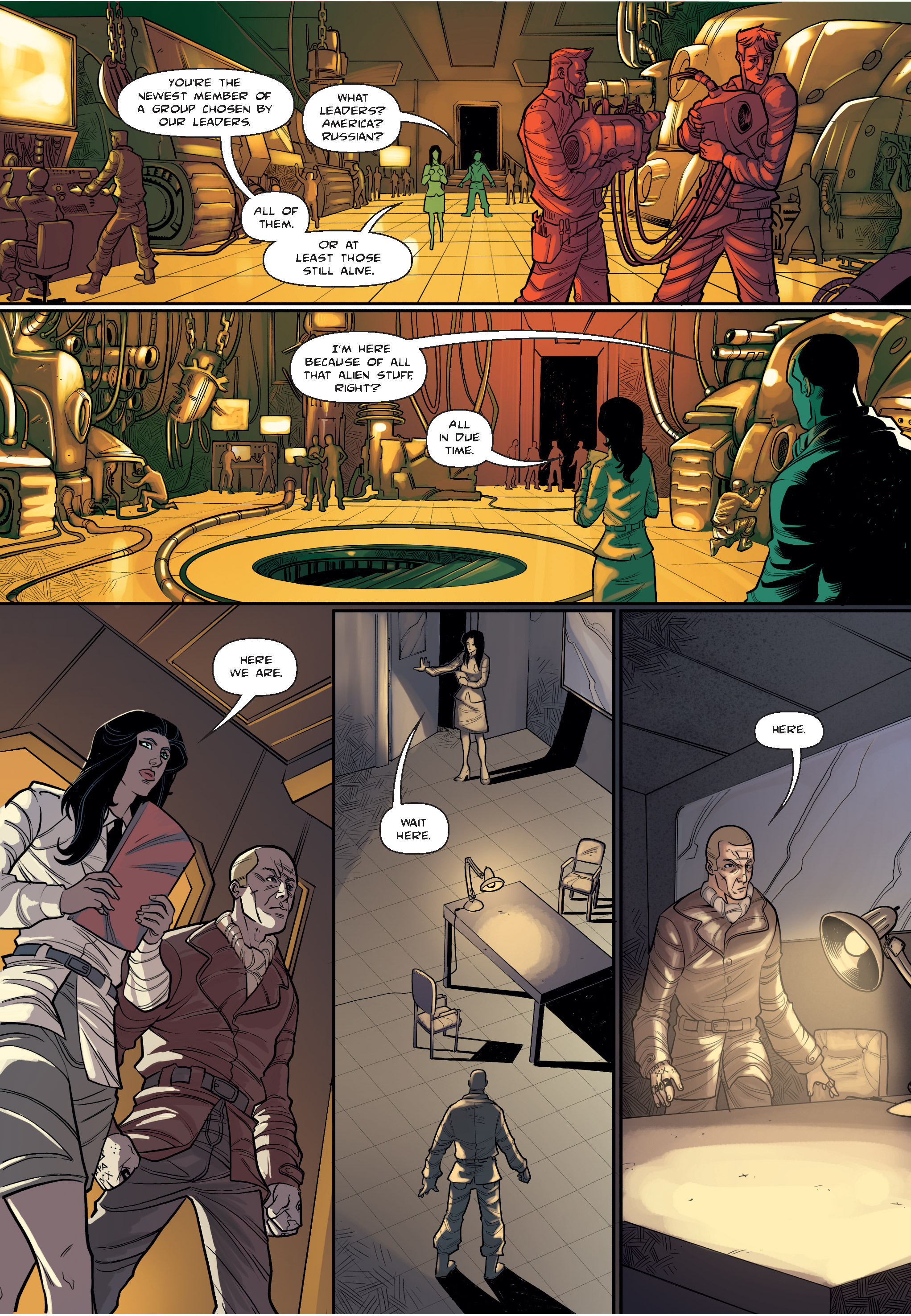 Read online The Shadow of a Terrible Thing comic -  Issue # TPB - 16