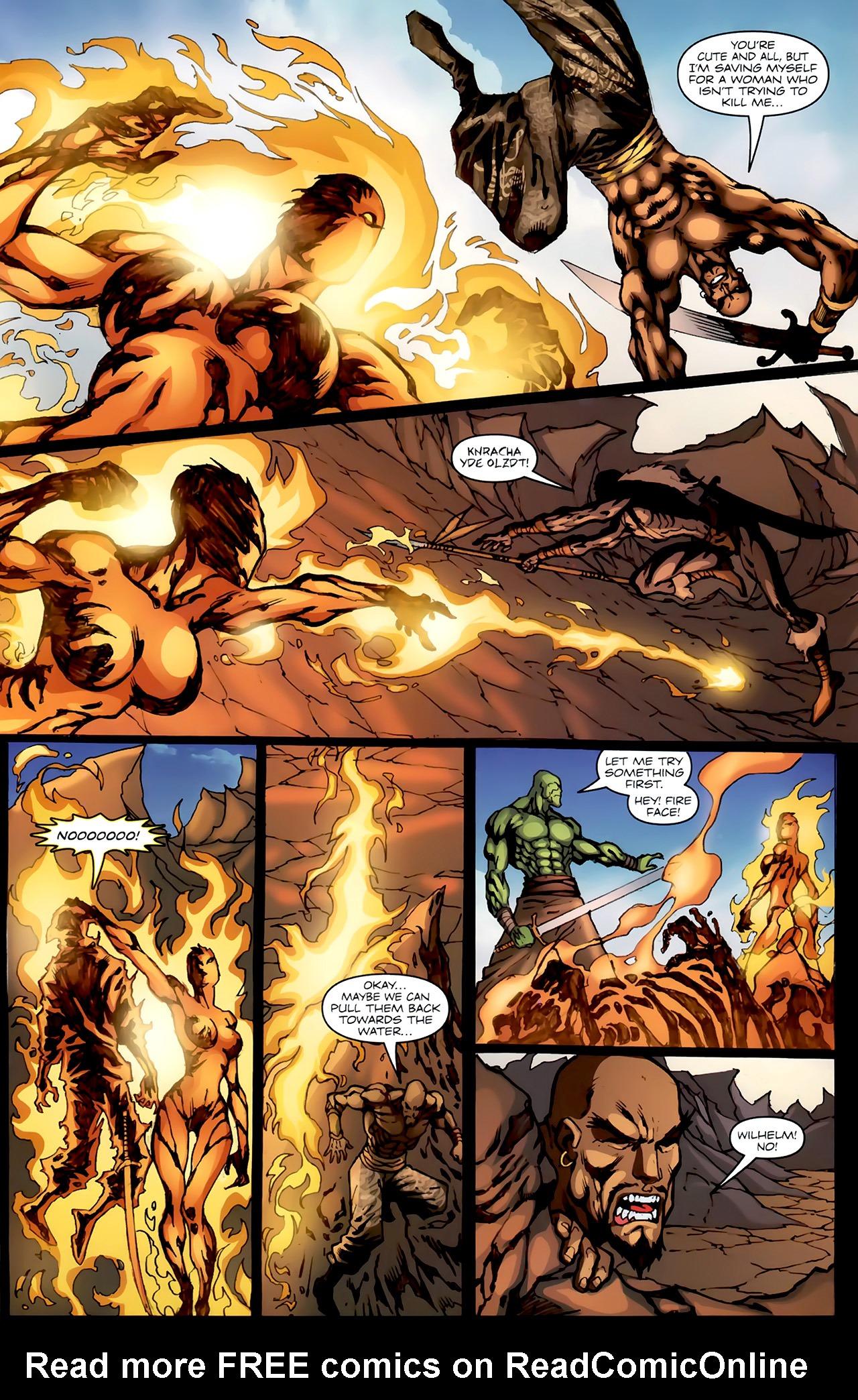 Read online 1001 Arabian Nights: The Adventures of Sinbad comic -  Issue #4 - 16