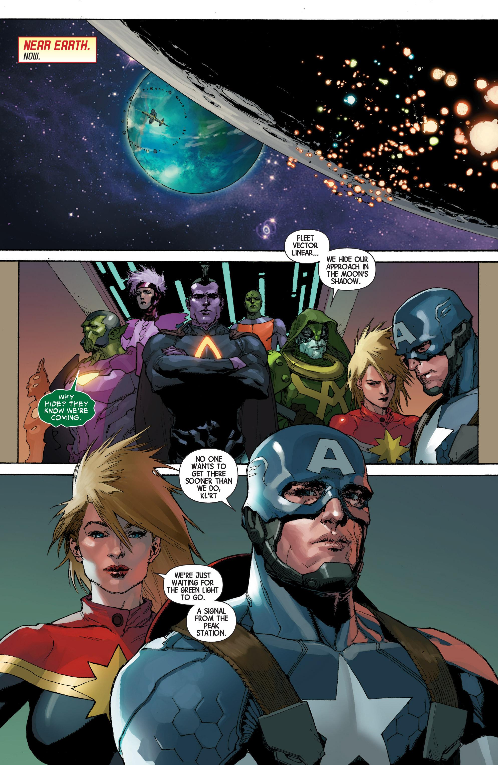 Read online Avengers (2013) comic -  Issue #Avengers (2013) _TPB 4 - 158