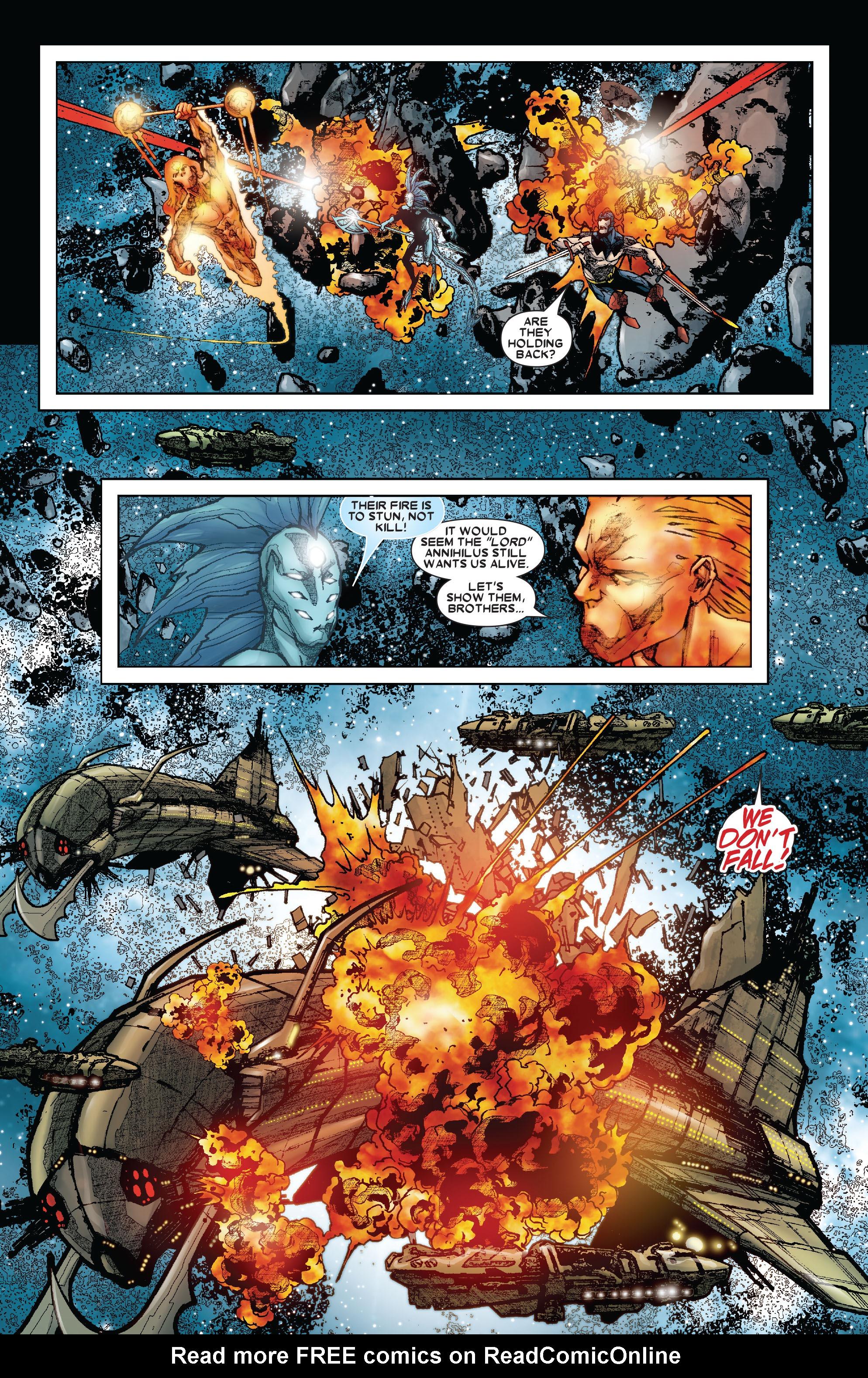 Read online Annihilation: Silver Surfer comic -  Issue #3 - 13