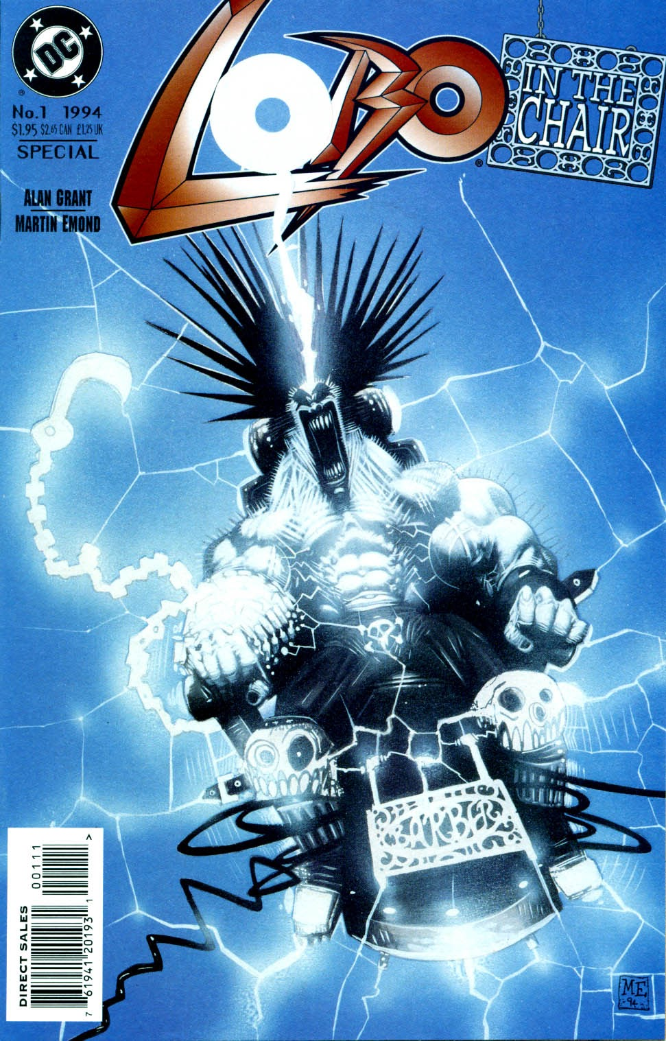 Lobo: In The Chair Full Page 1
