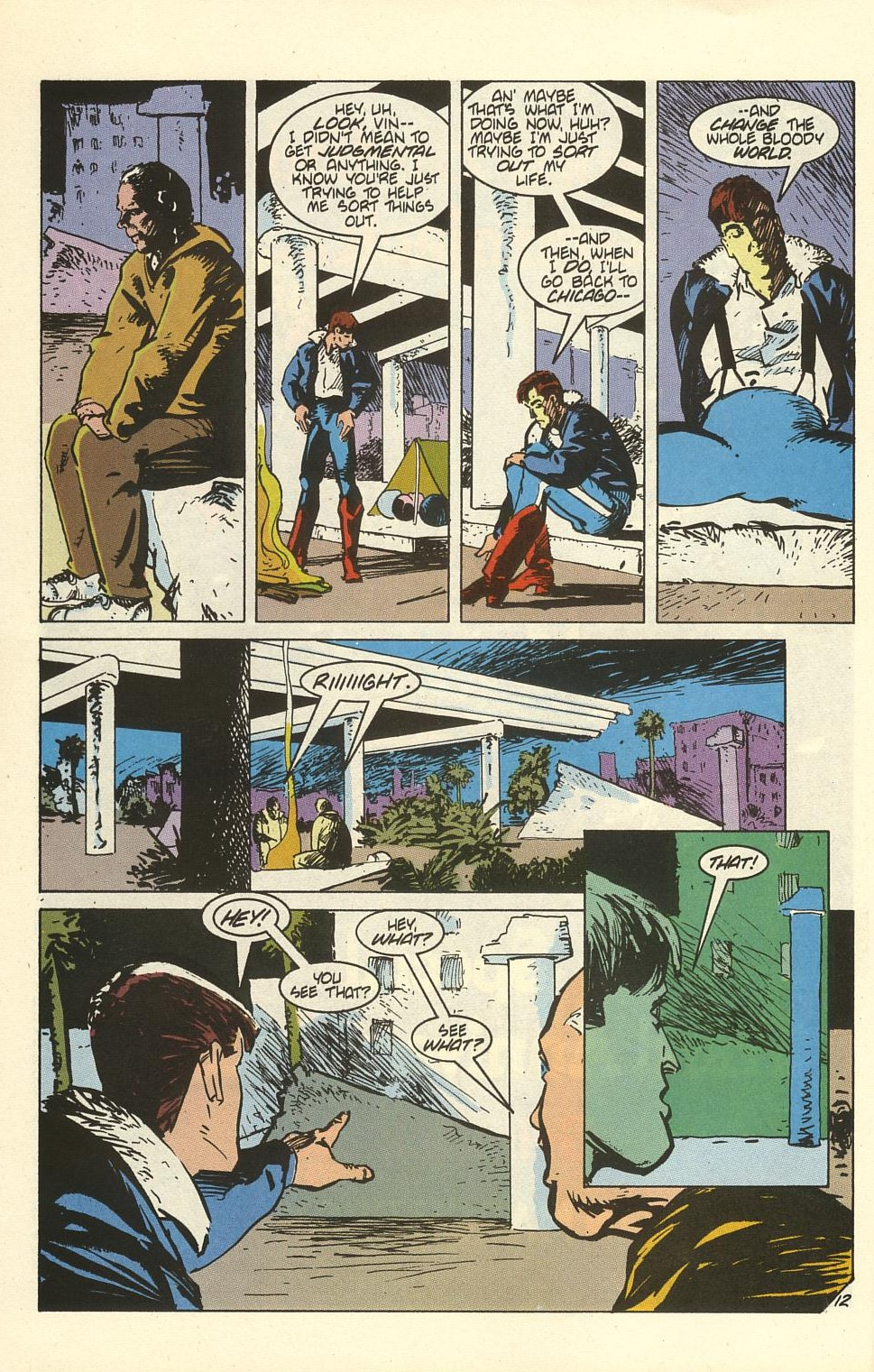 Read online American Flagg! comic -  Issue #41 - 16