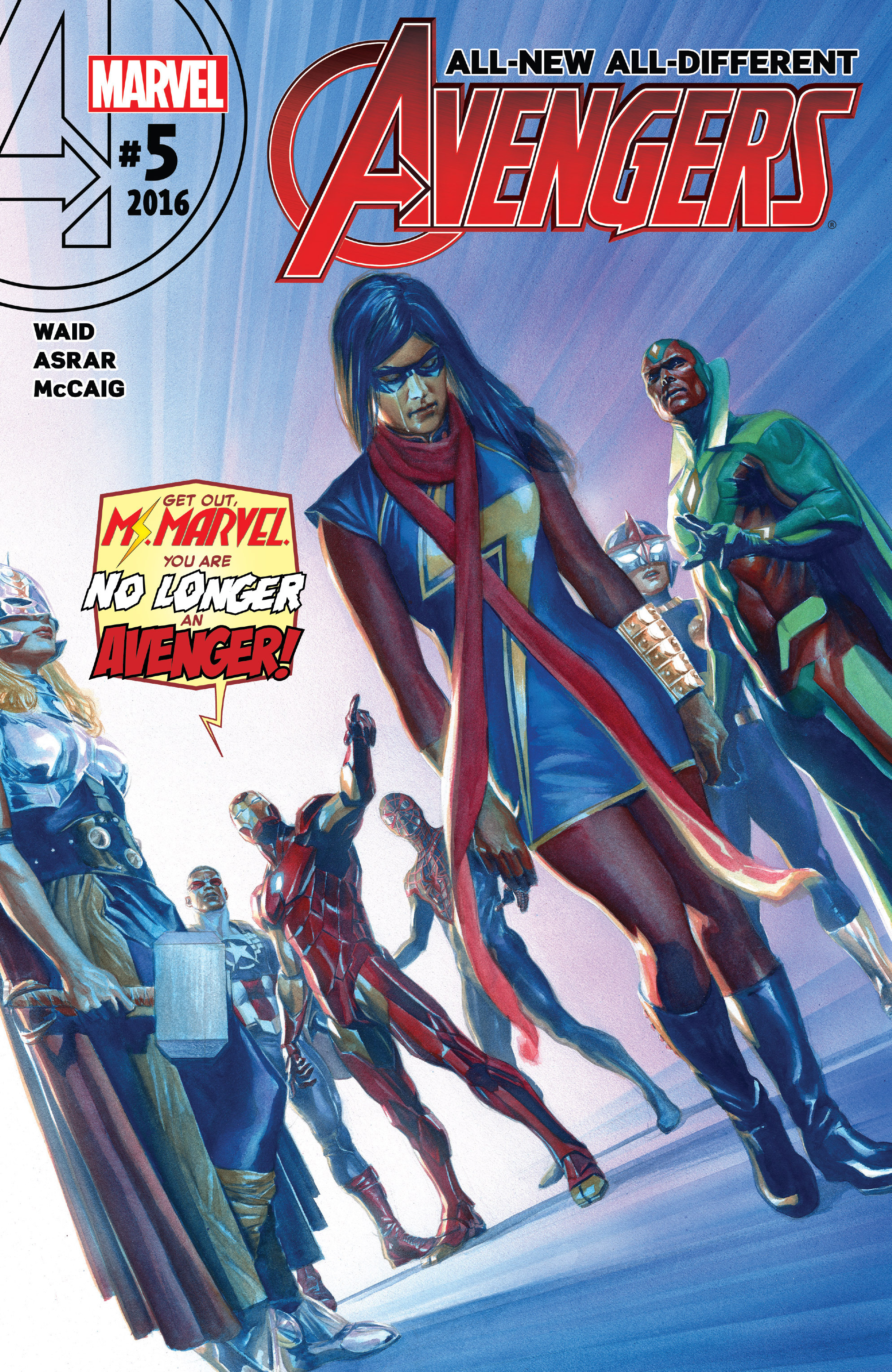 Read online All-New, All-Different Avengers comic -  Issue #5 - 1