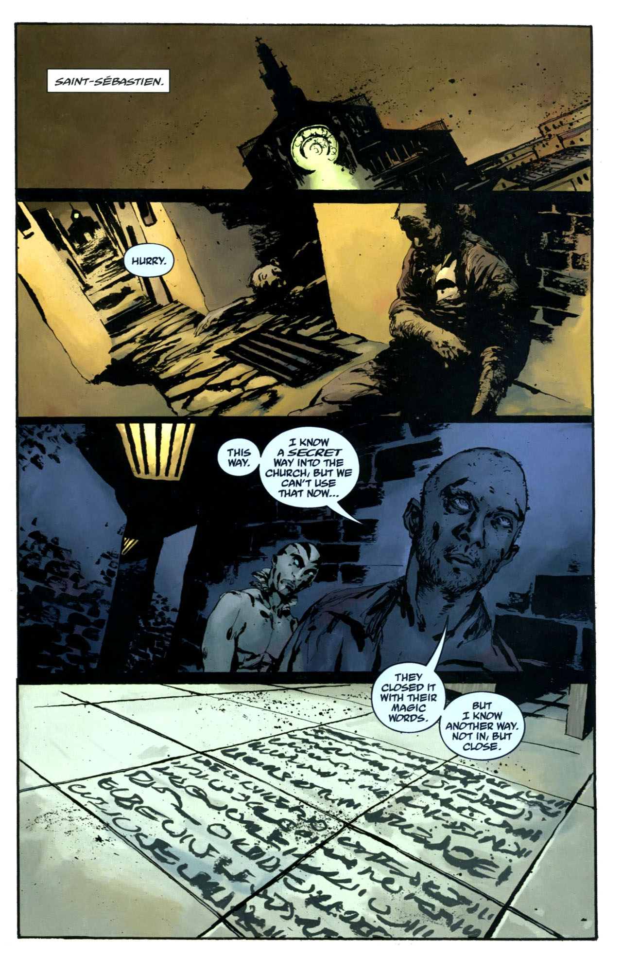 Read online Abe Sapien: The Drowning comic -  Issue #5 - 3