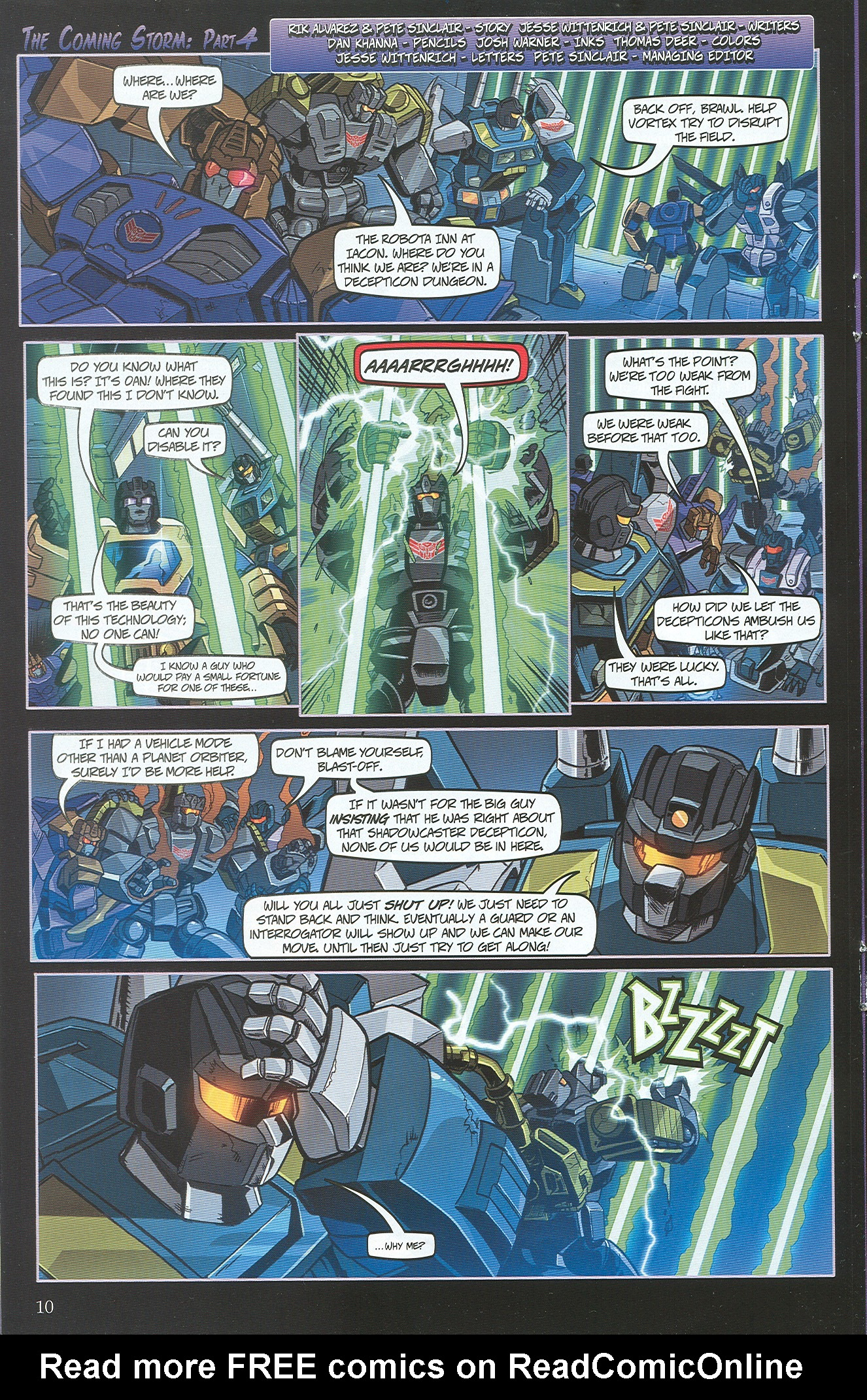 Read online Transformers: Collectors' Club comic -  Issue #34 - 10