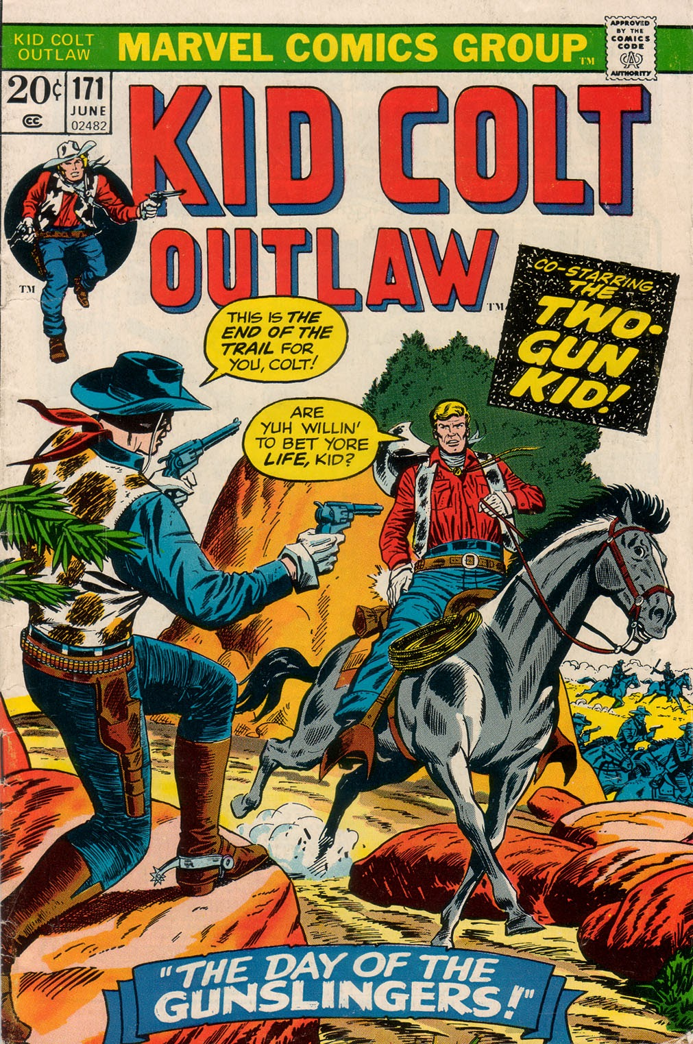Kid Colt Outlaw issue 171 - Page 1
