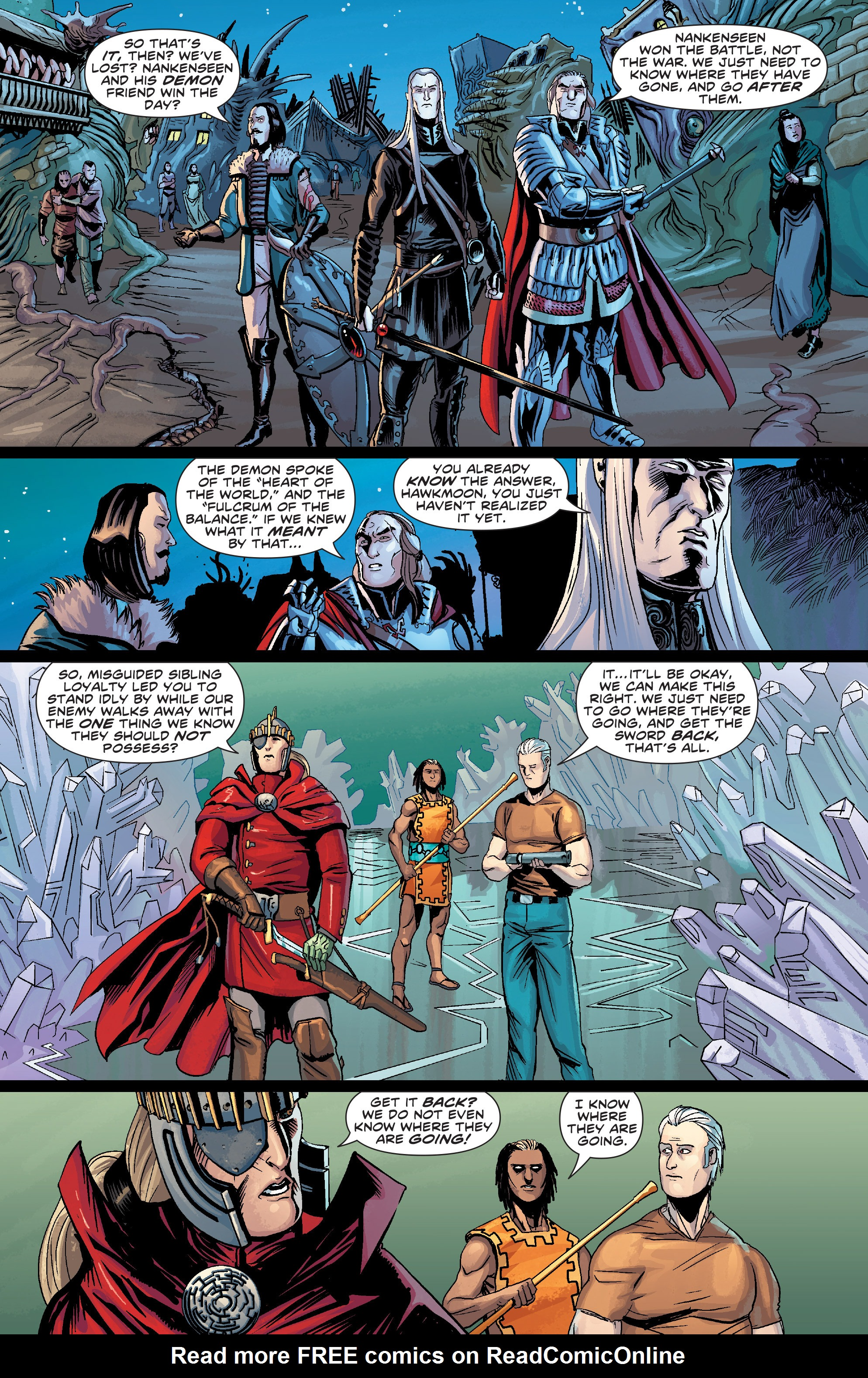 Read online Elric: The Balance Lost comic -  Issue # TPB 2 - 23
