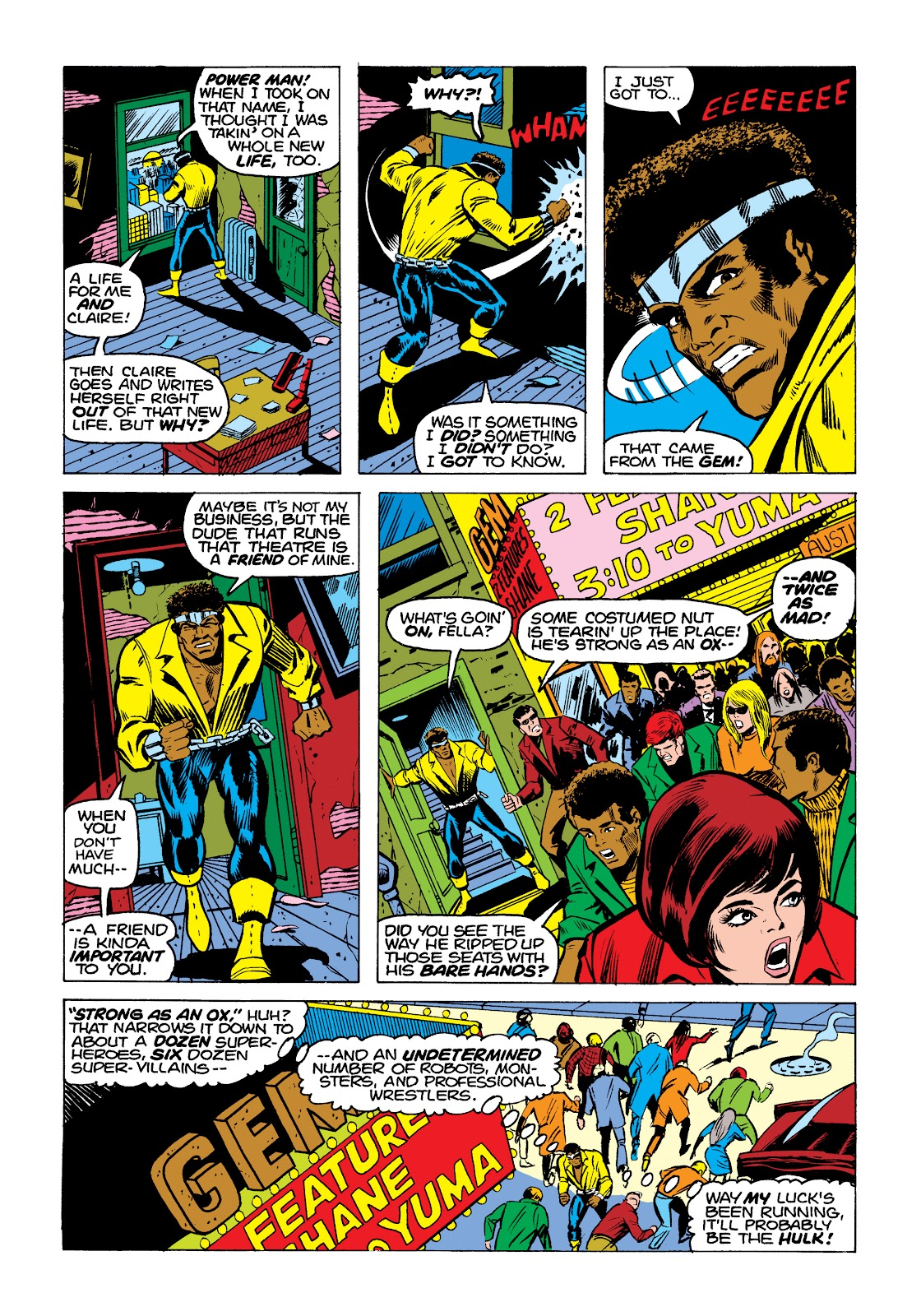 Read online Marvel Masterworks: Luke Cage, Power Man comic -  Issue # TPB 2 (Part 1) - 93