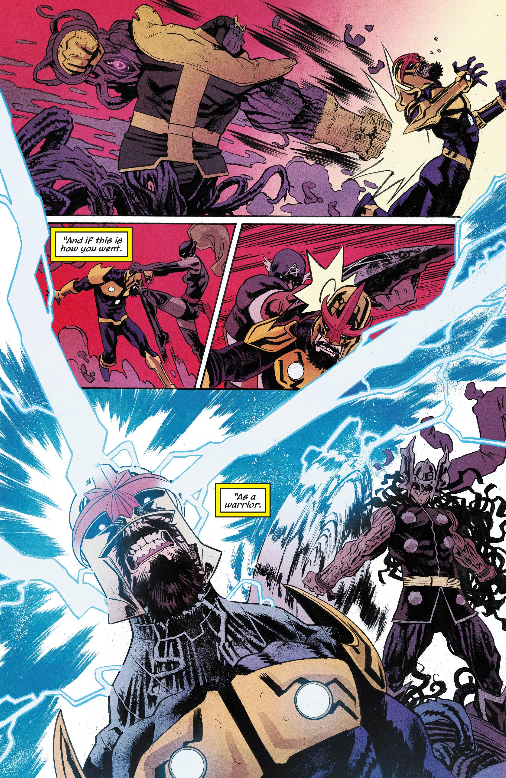 Read online Nova (2017) comic -  Issue #6 - 12