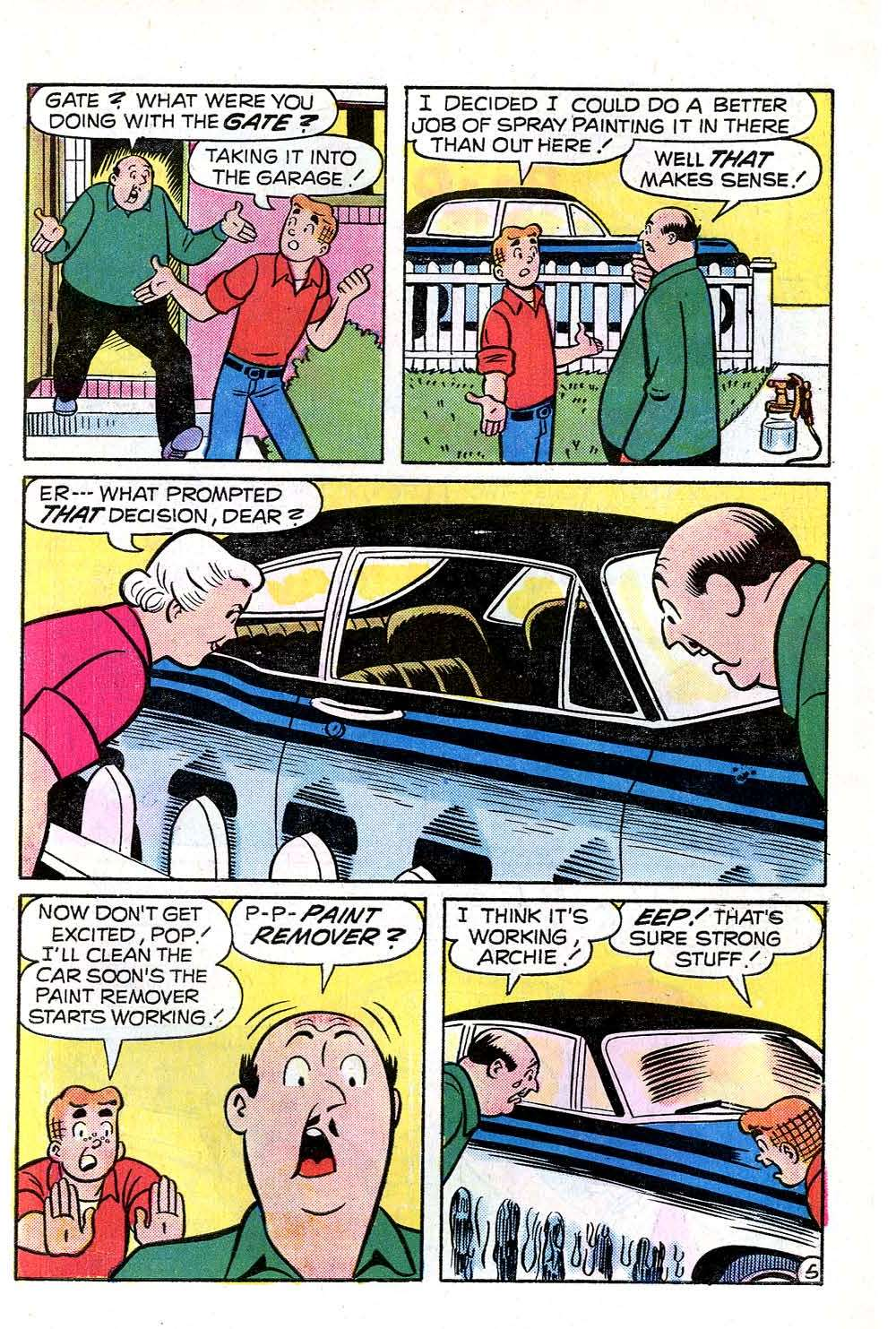Read online Archie (1960) comic -  Issue #252 - 7