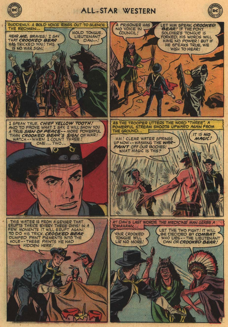 Read online All-Star Western (1951) comic -  Issue #100 - 24