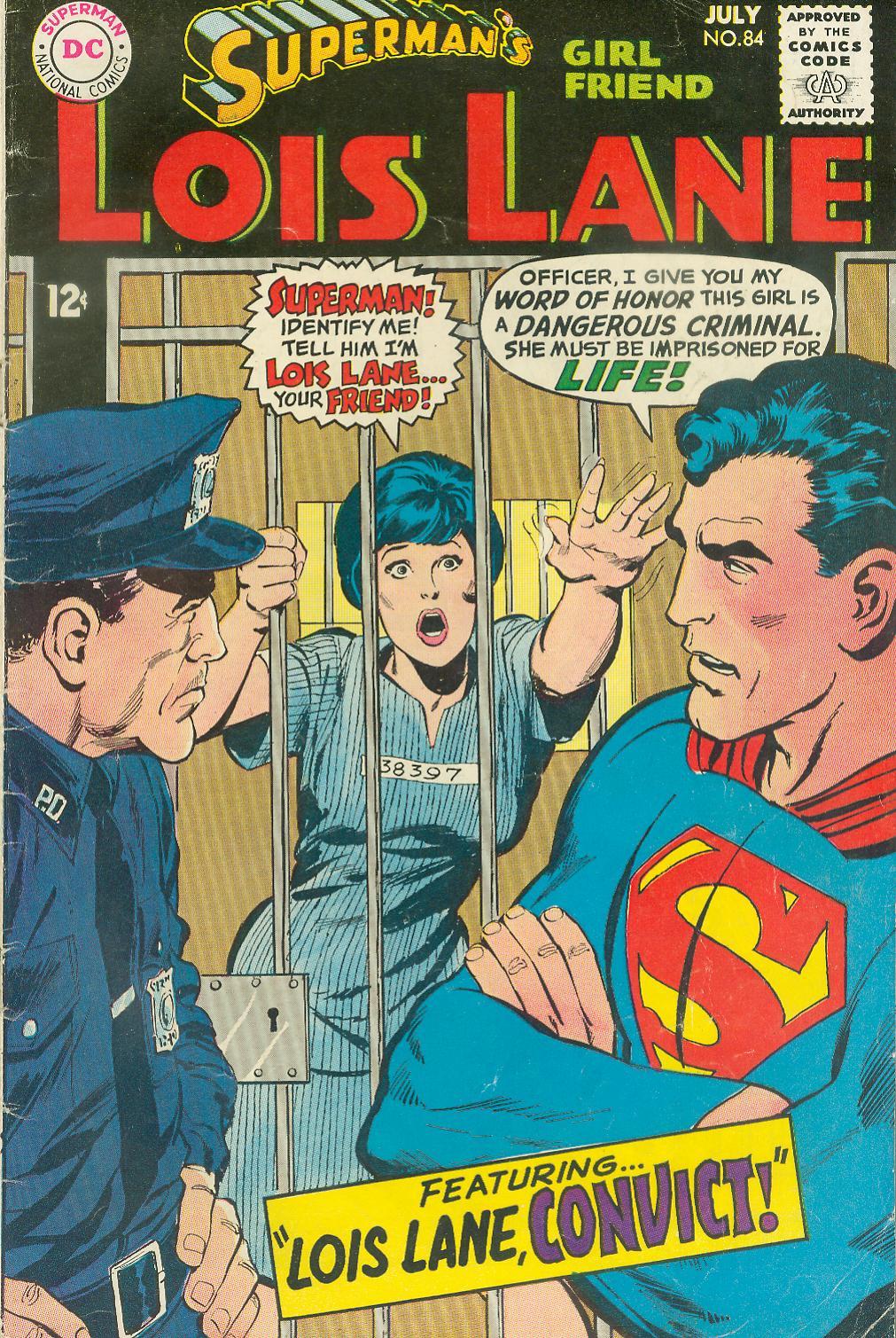 Supermans Girl Friend, Lois Lane 84 Page 1