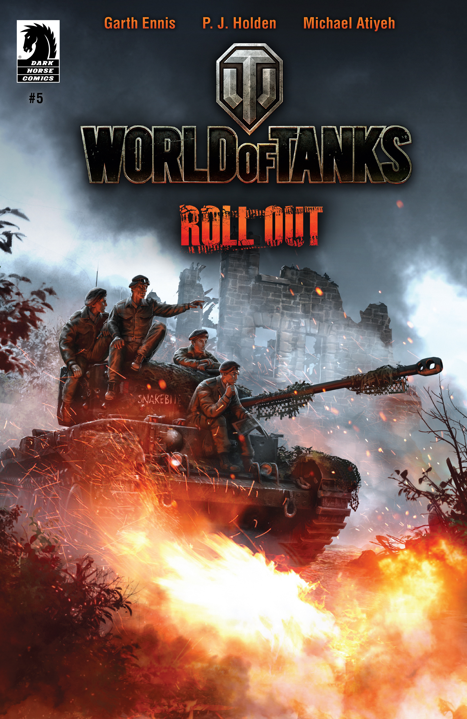 Read online World of Tanks comic -  Issue #5 - 1
