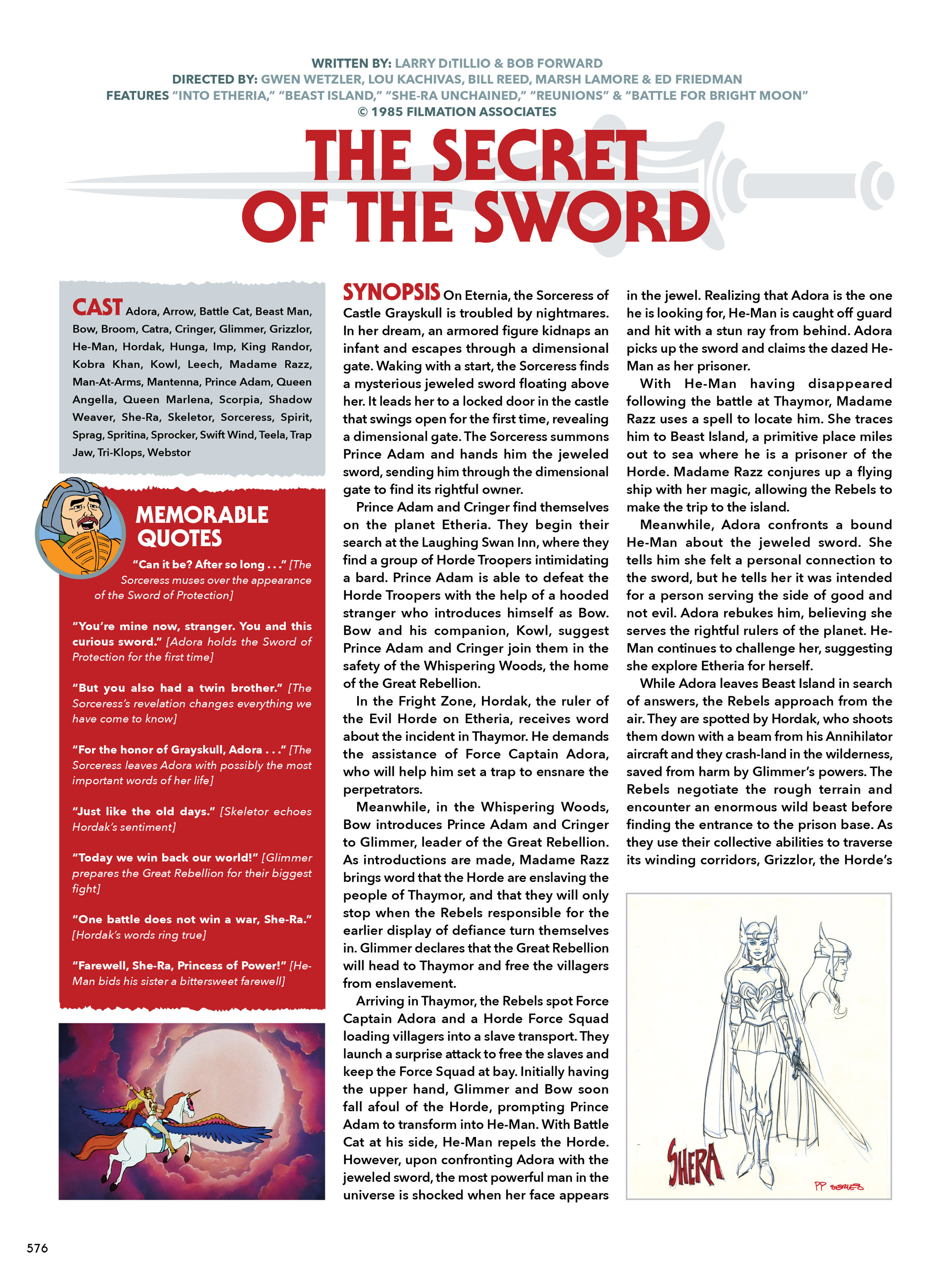 Read online He-Man and She-Ra: A Complete Guide to the Classic Animated Adventures comic -  Issue # TPB (Part 3) - 176