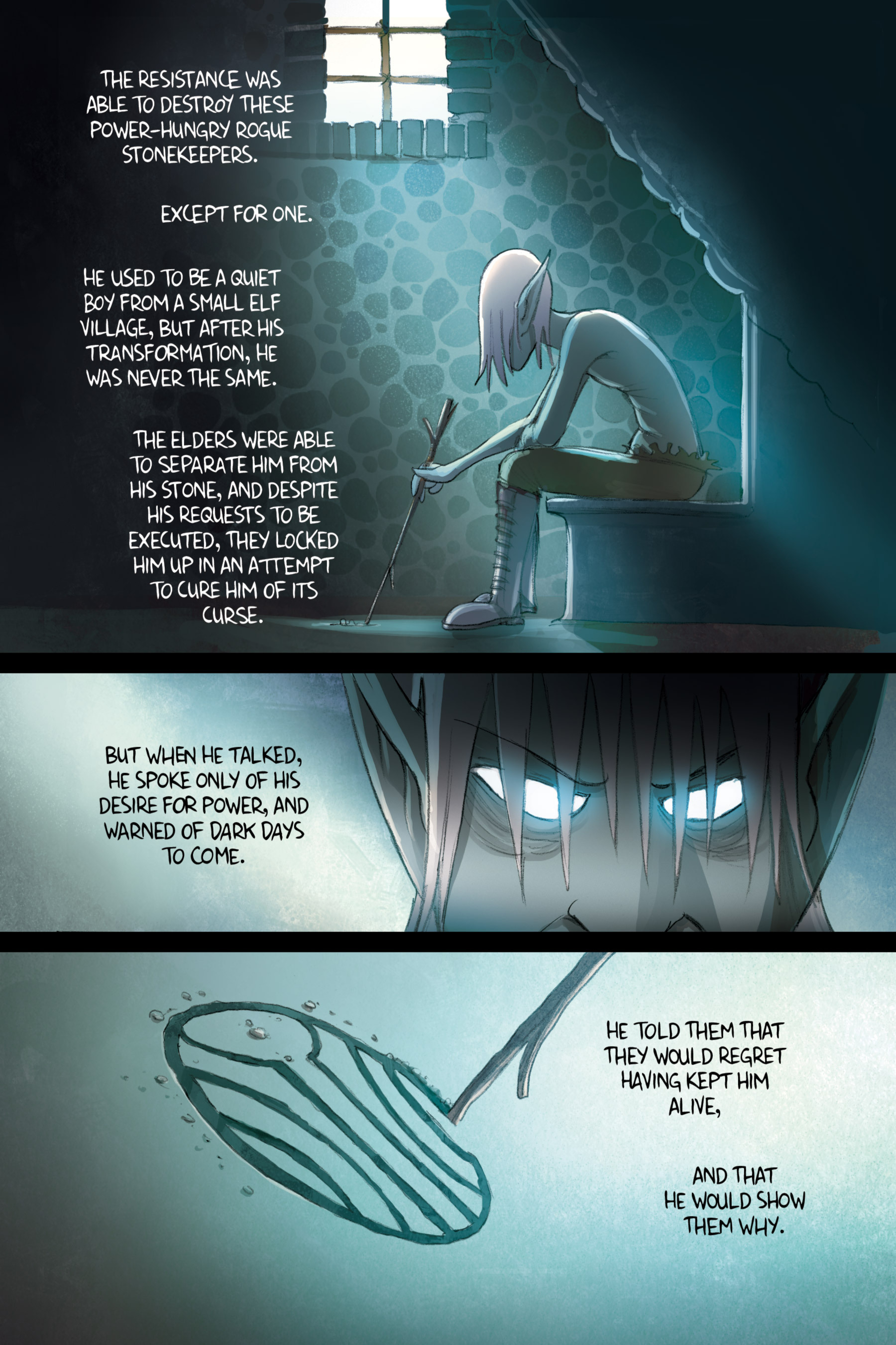Read online Amulet comic -  Issue #2 - 123