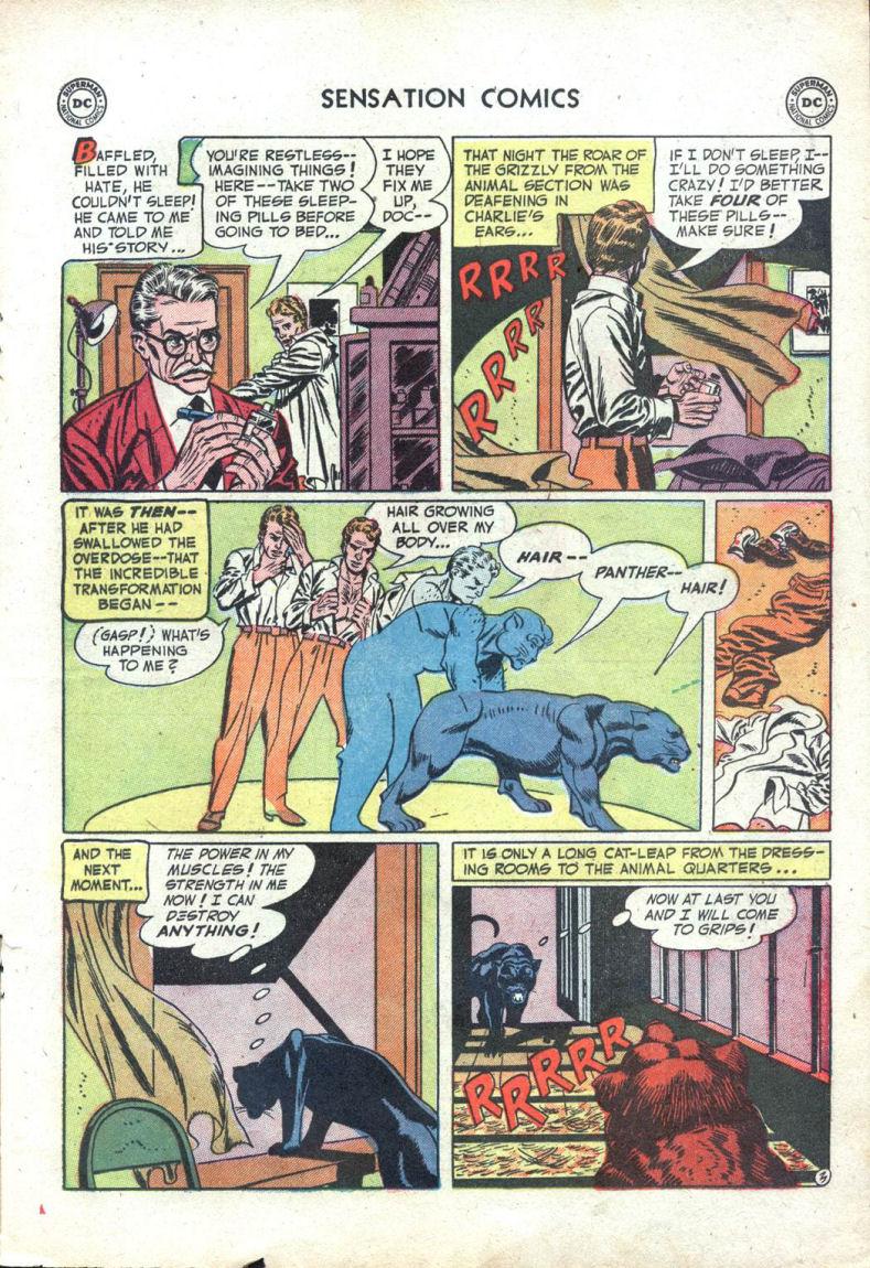 Read online Sensation (Mystery) Comics comic -  Issue #109 - 15