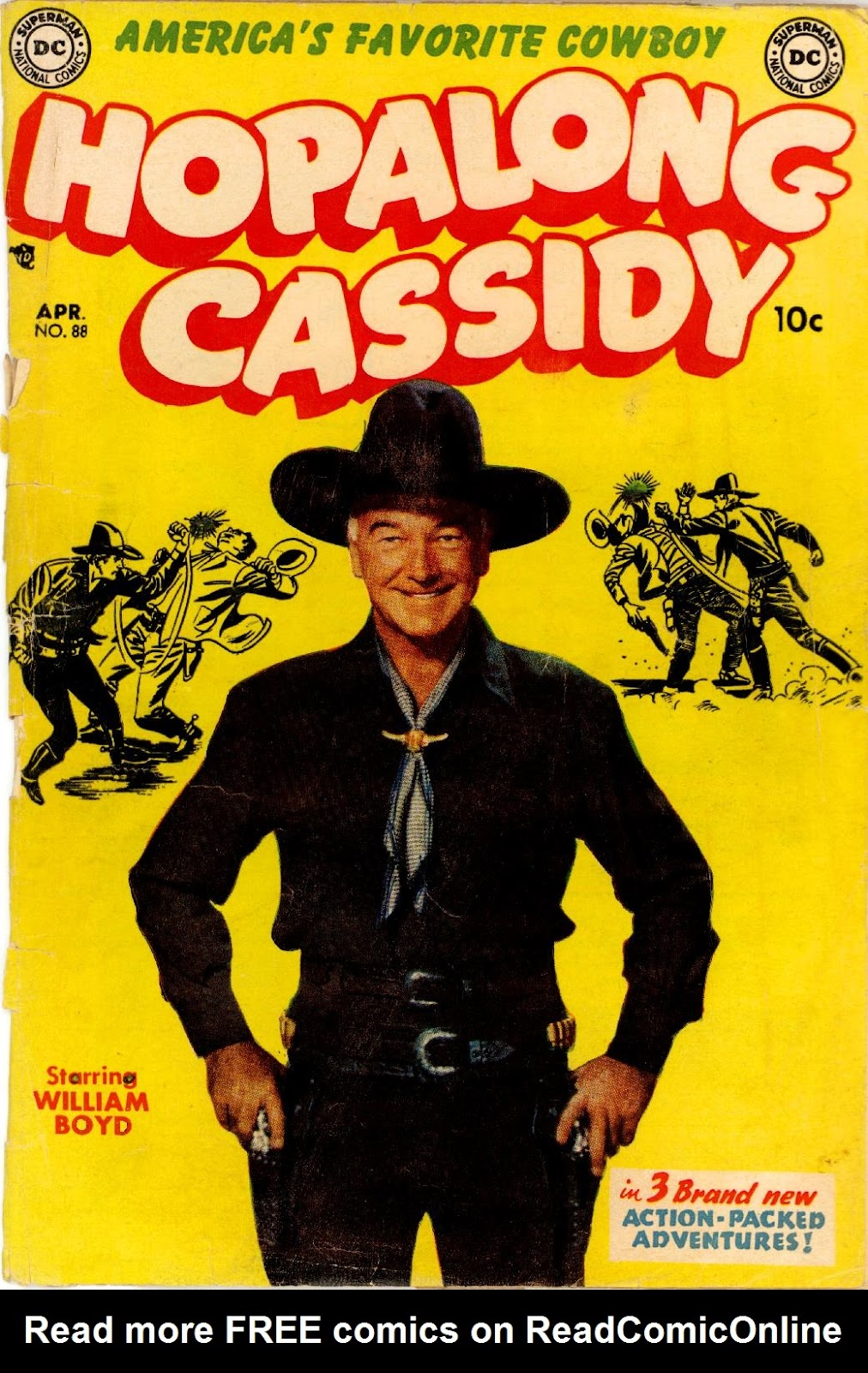 Hopalong Cassidy issue 88 - Page 1