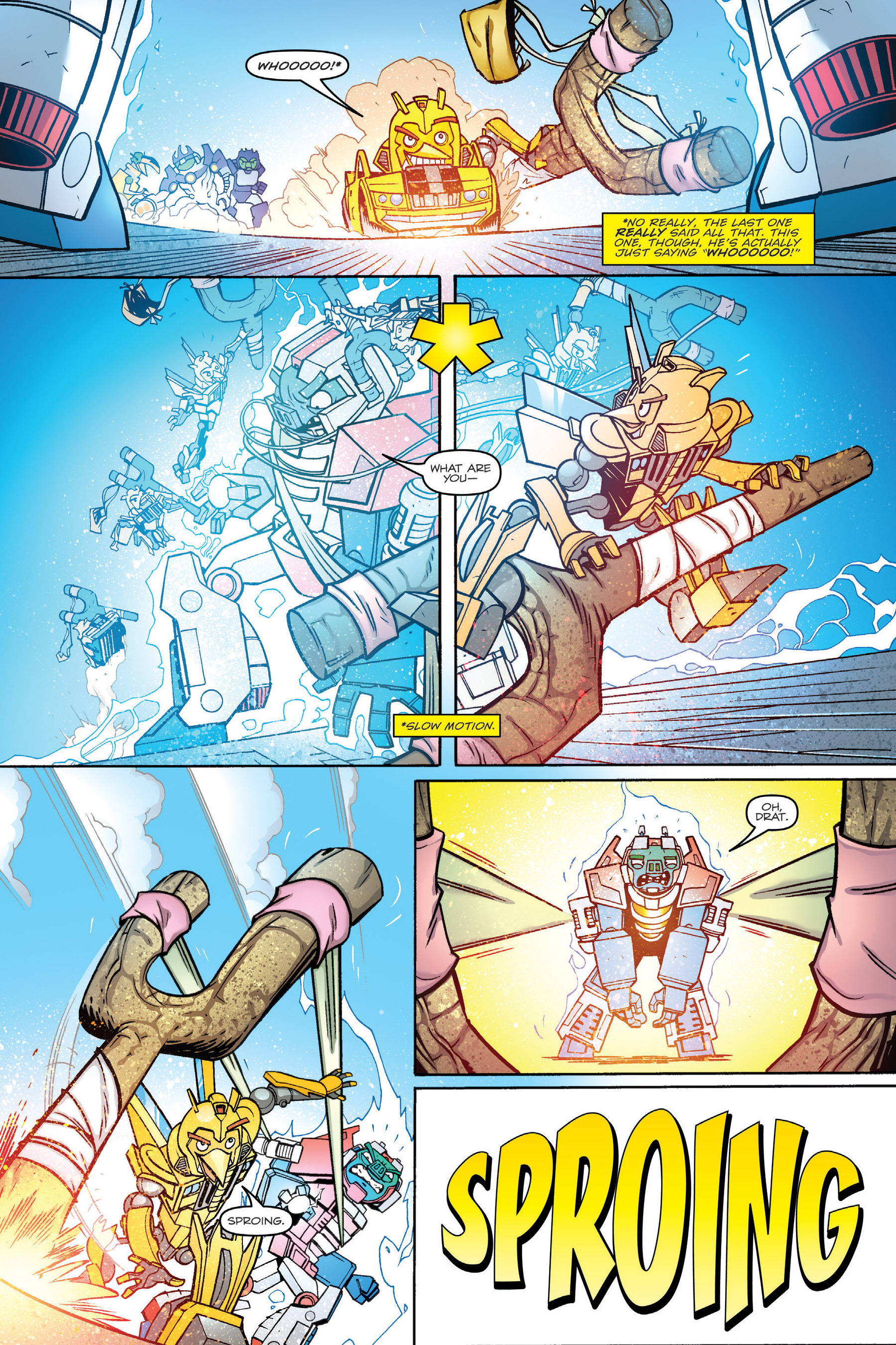 Read online Angry Birds Transformers: Age of Eggstinction comic -  Issue # Full - 86