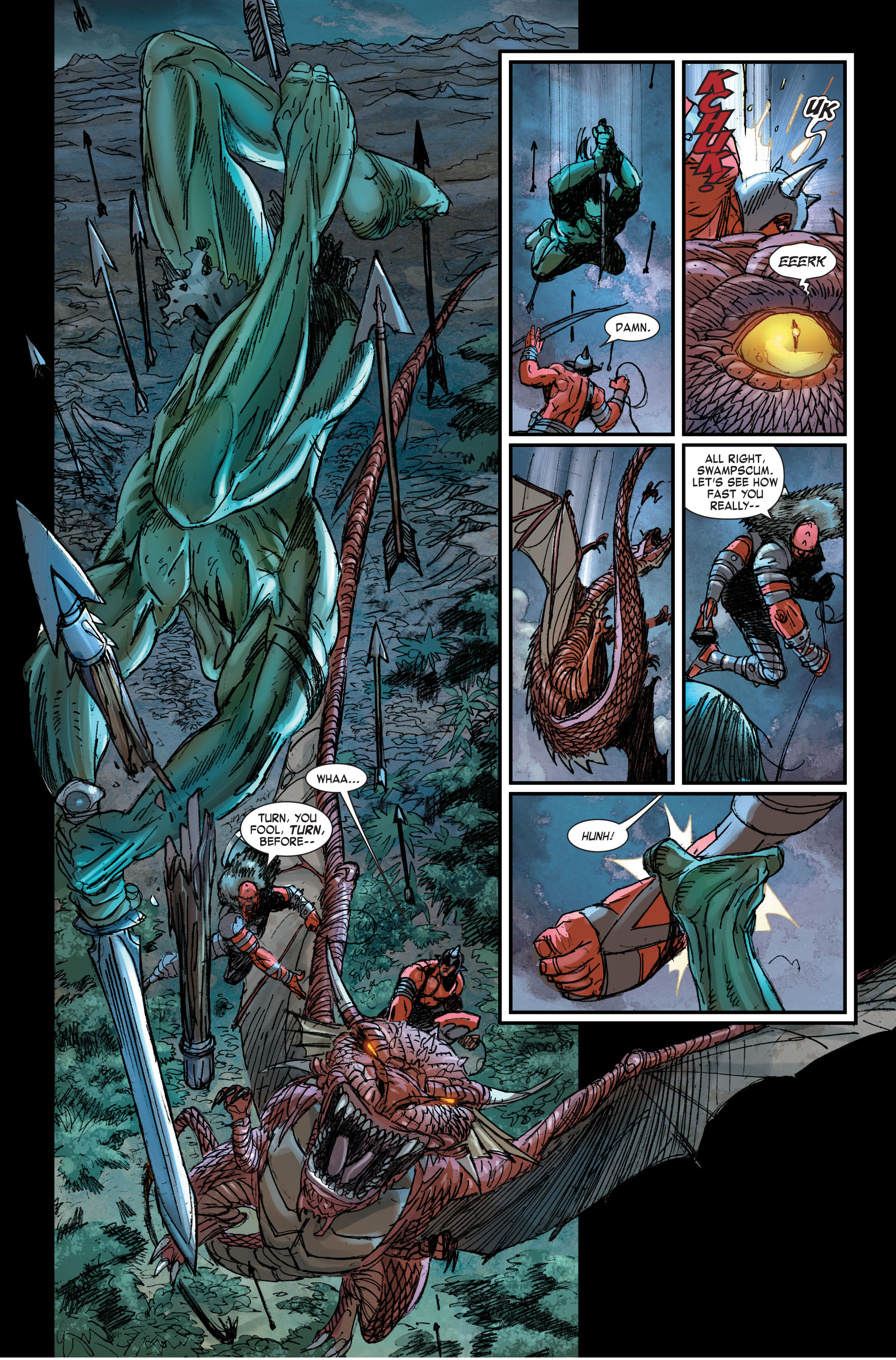 Read online Skaar: Son of Hulk comic -  Issue #2 - 8