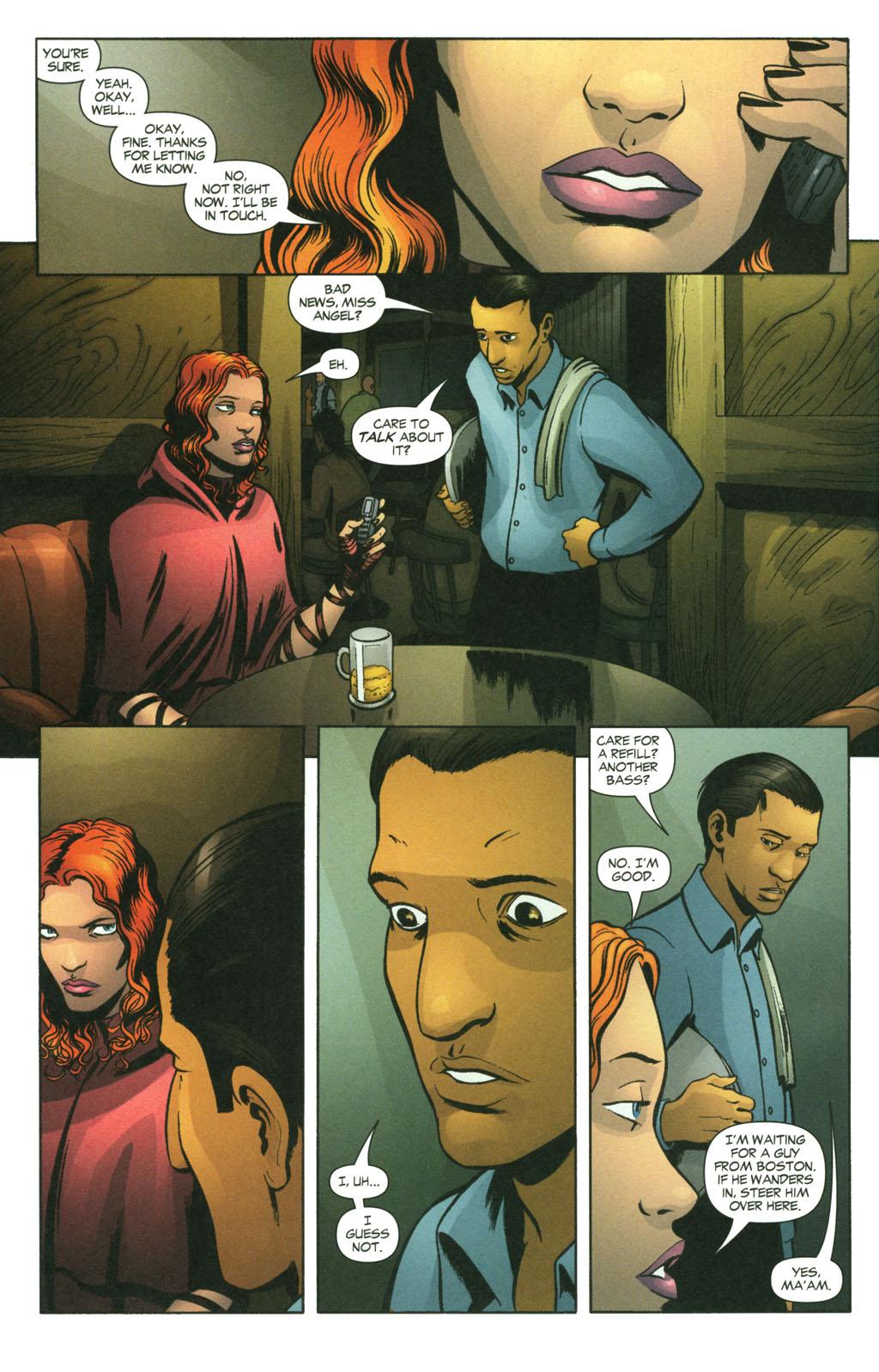 Read online Fallen Angel (2003) comic -  Issue #14 - 5