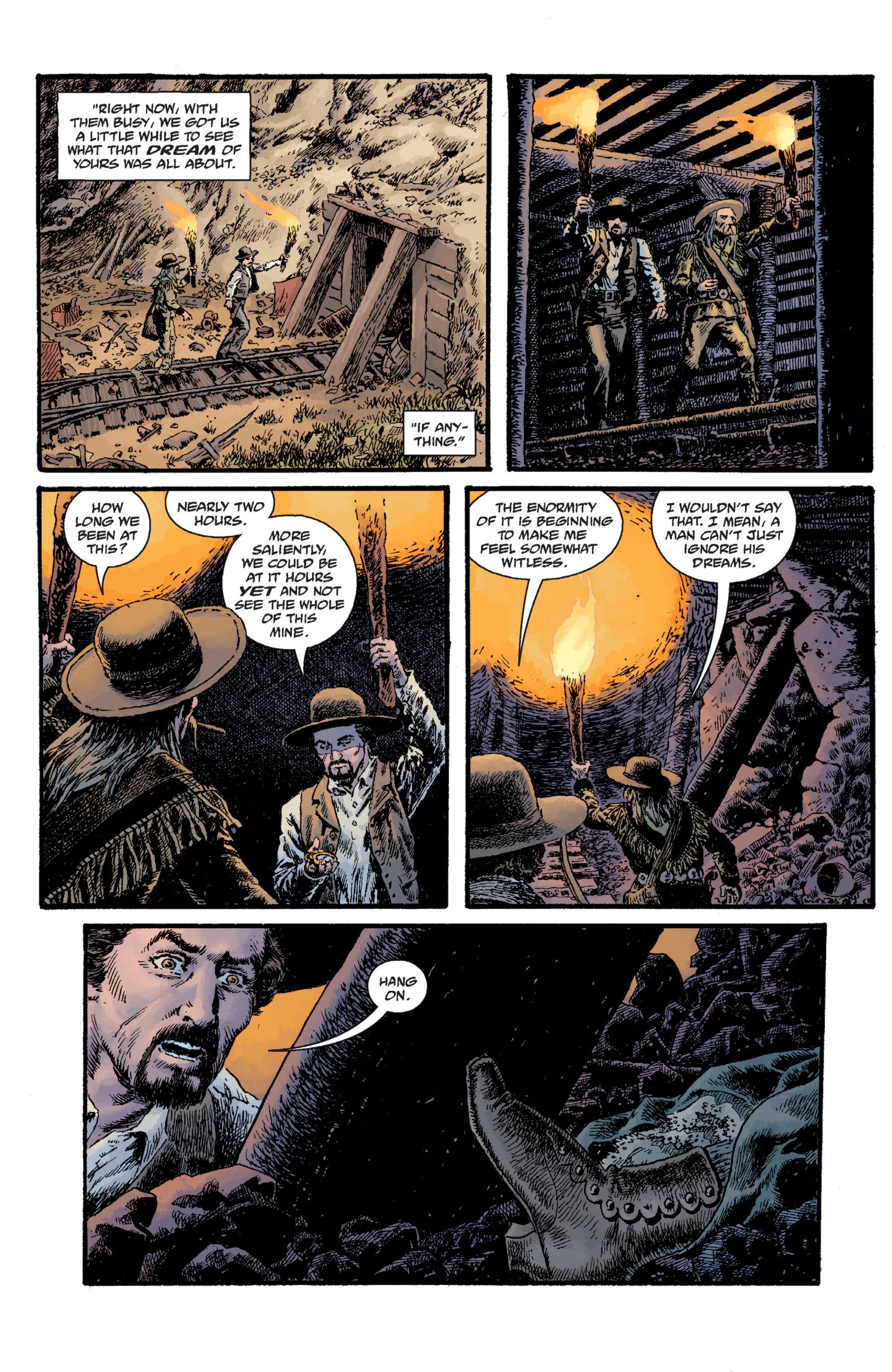 Read online Sir Edward Grey, Witchfinder: Lost and Gone Forever comic -  Issue # TPB - 85