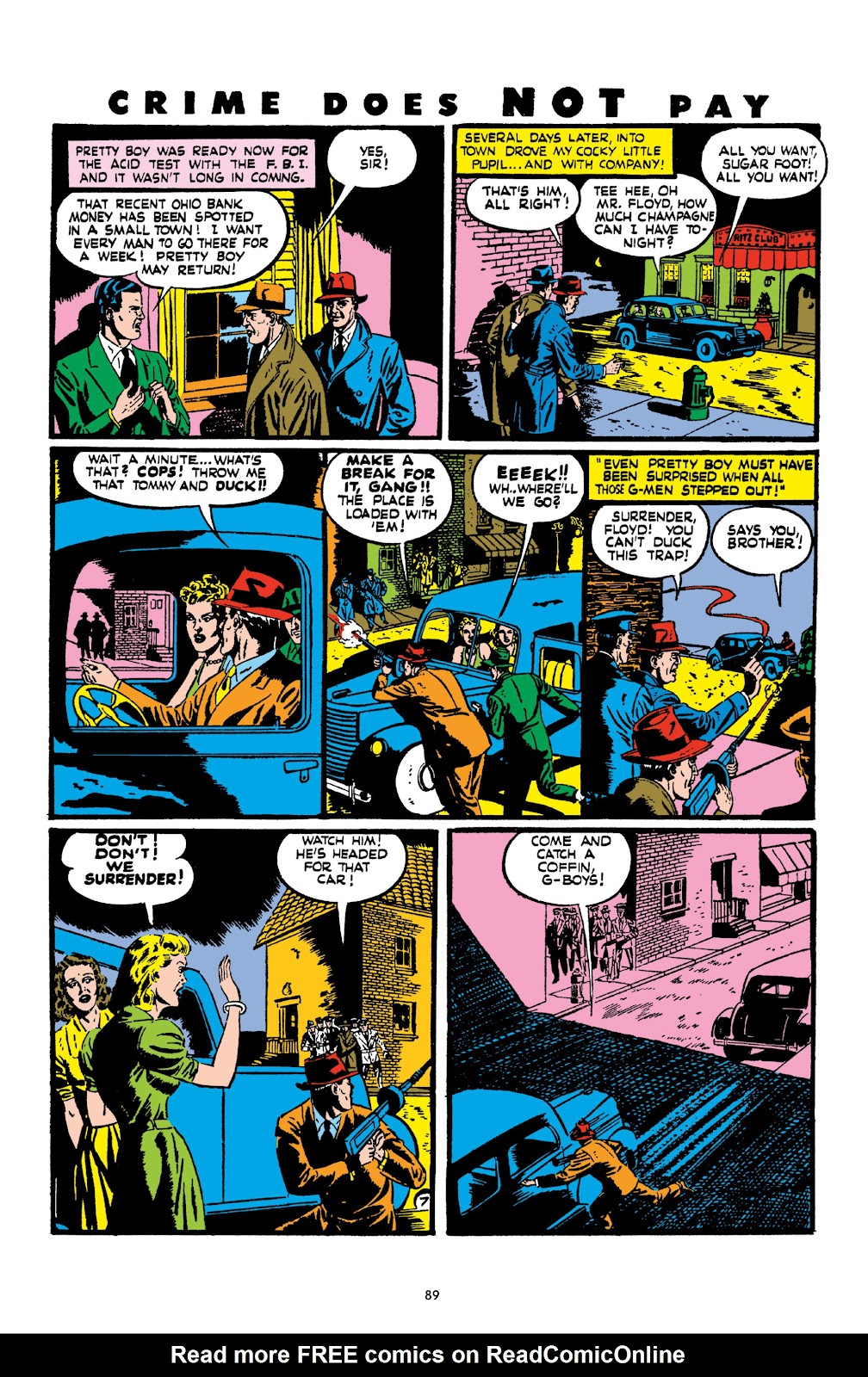 Read online Crime Does Not Pay Archives comic -  Issue # TPB 2 (Part 1) - 89