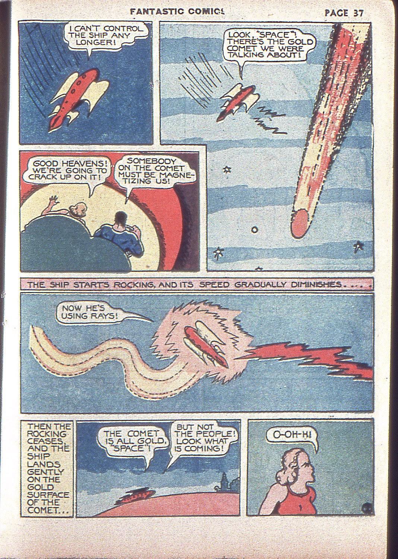 Read online Fantastic Comics comic -  Issue #4 - 38