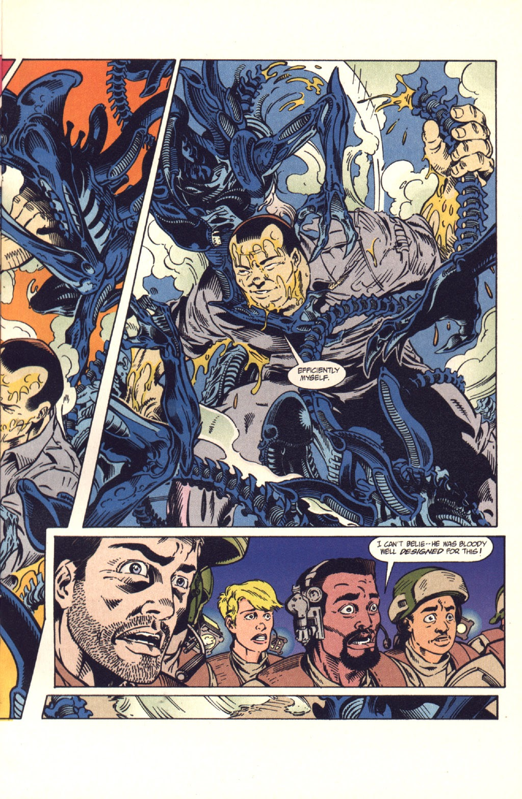Read online Aliens: Colonial Marines comic -  Issue #9 - 8
