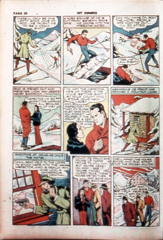 Read online Hit Comics comic -  Issue #14 - 22