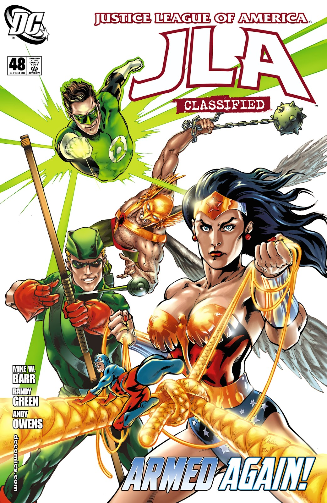 JLA: Classified issue 48 - Page 1