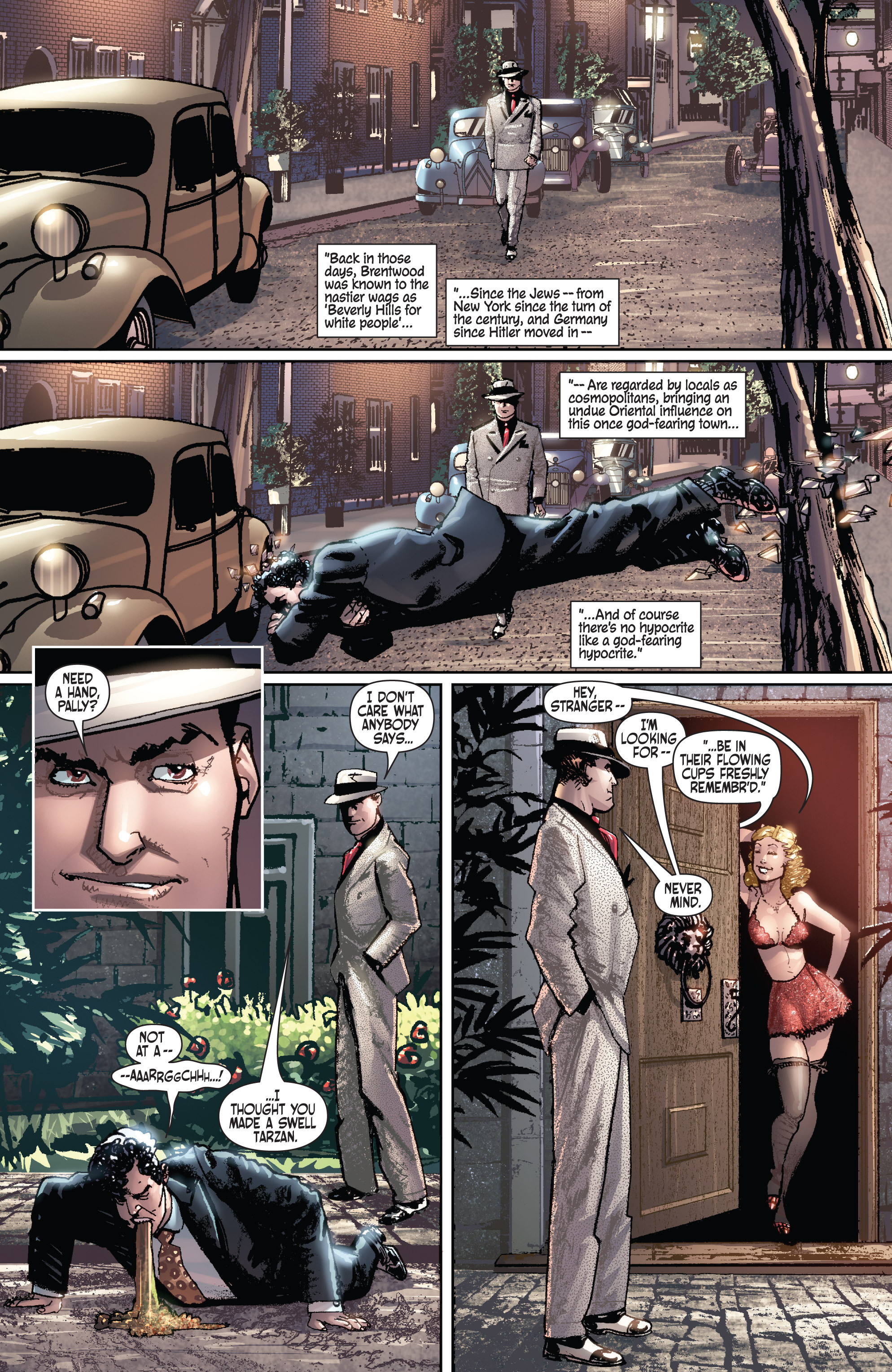 Read online Dominic Fortune comic -  Issue #1 - 12