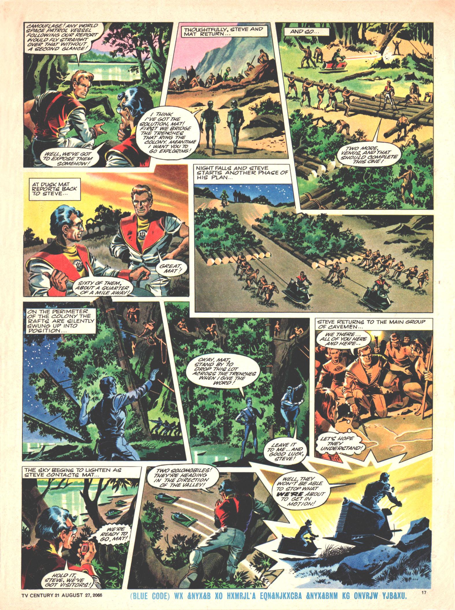 Read online TV Century 21 (TV 21) comic -  Issue #84 - 16