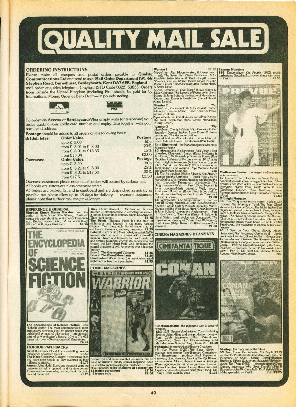 Warrior Issue #5 #6 - English 48