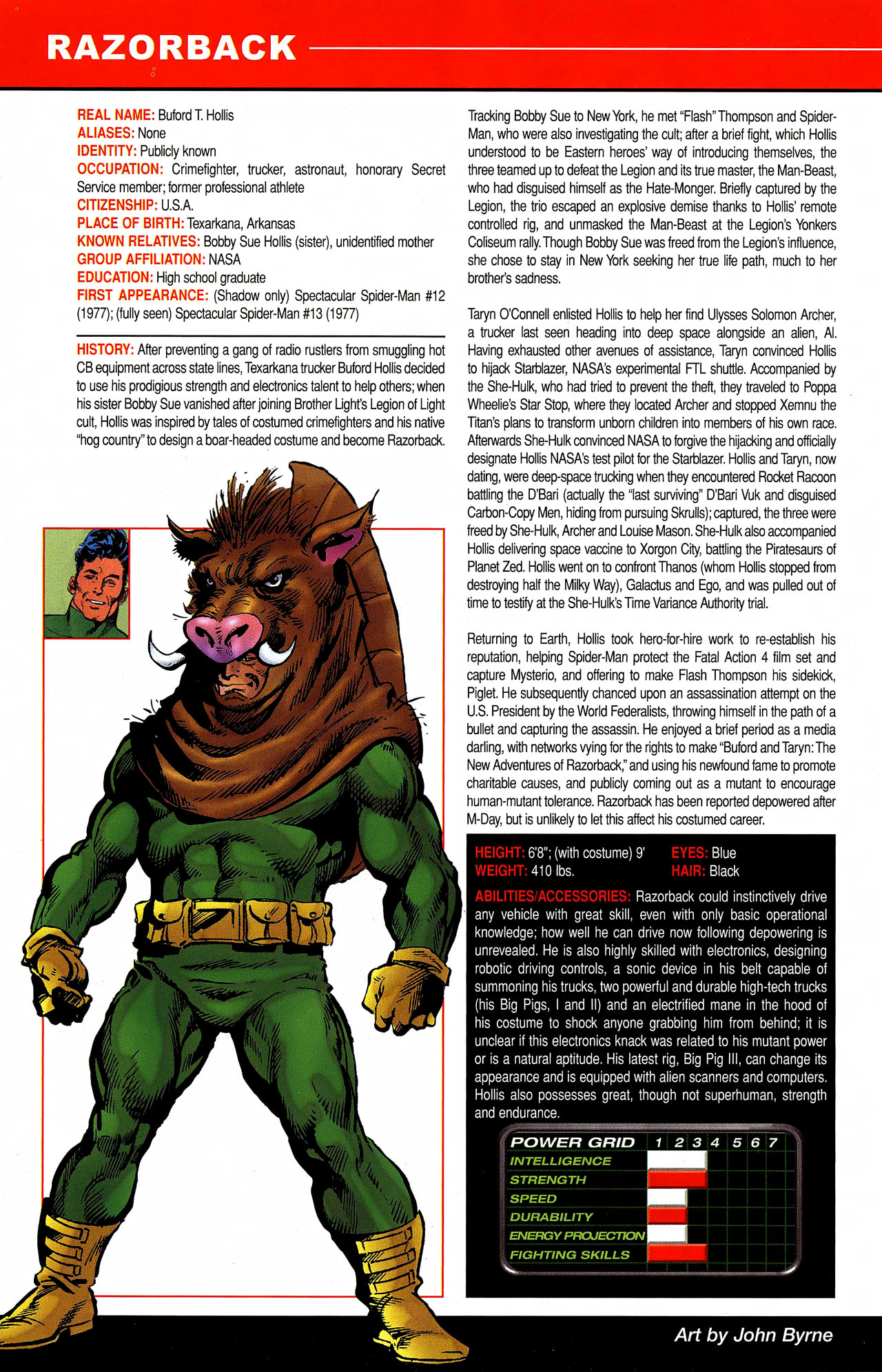 Read online All-New Official Handbook of the Marvel Universe A to Z comic -  Issue #9 - 14