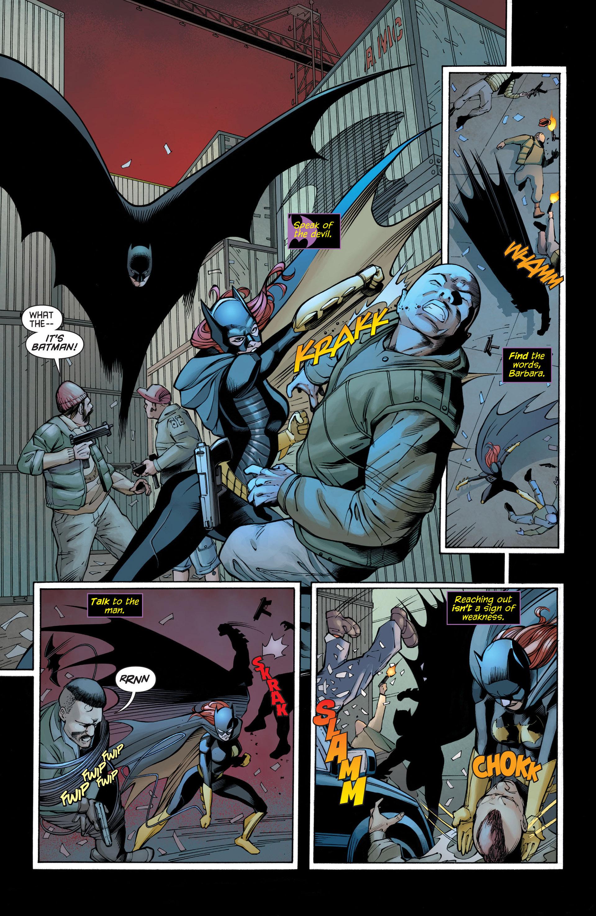 Read online Batman and Robin (2011) comic -  Issue #21 - Batman and Batgirl - 3