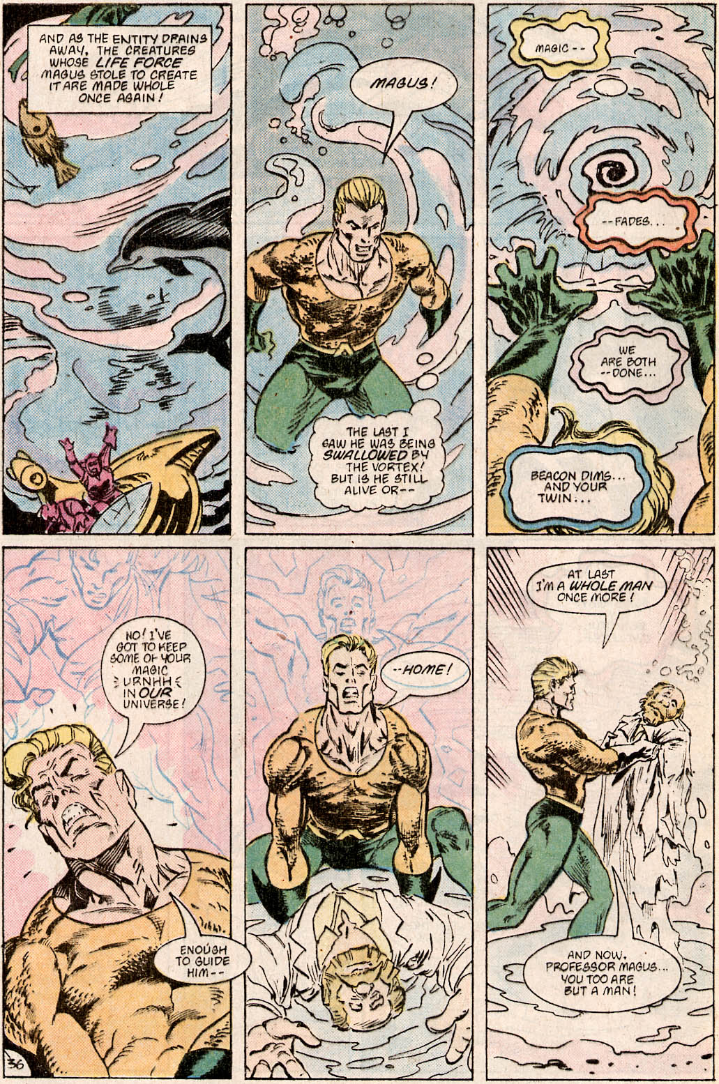 Read online Aquaman Special comic -  Issue #Aquaman Special Full - 37