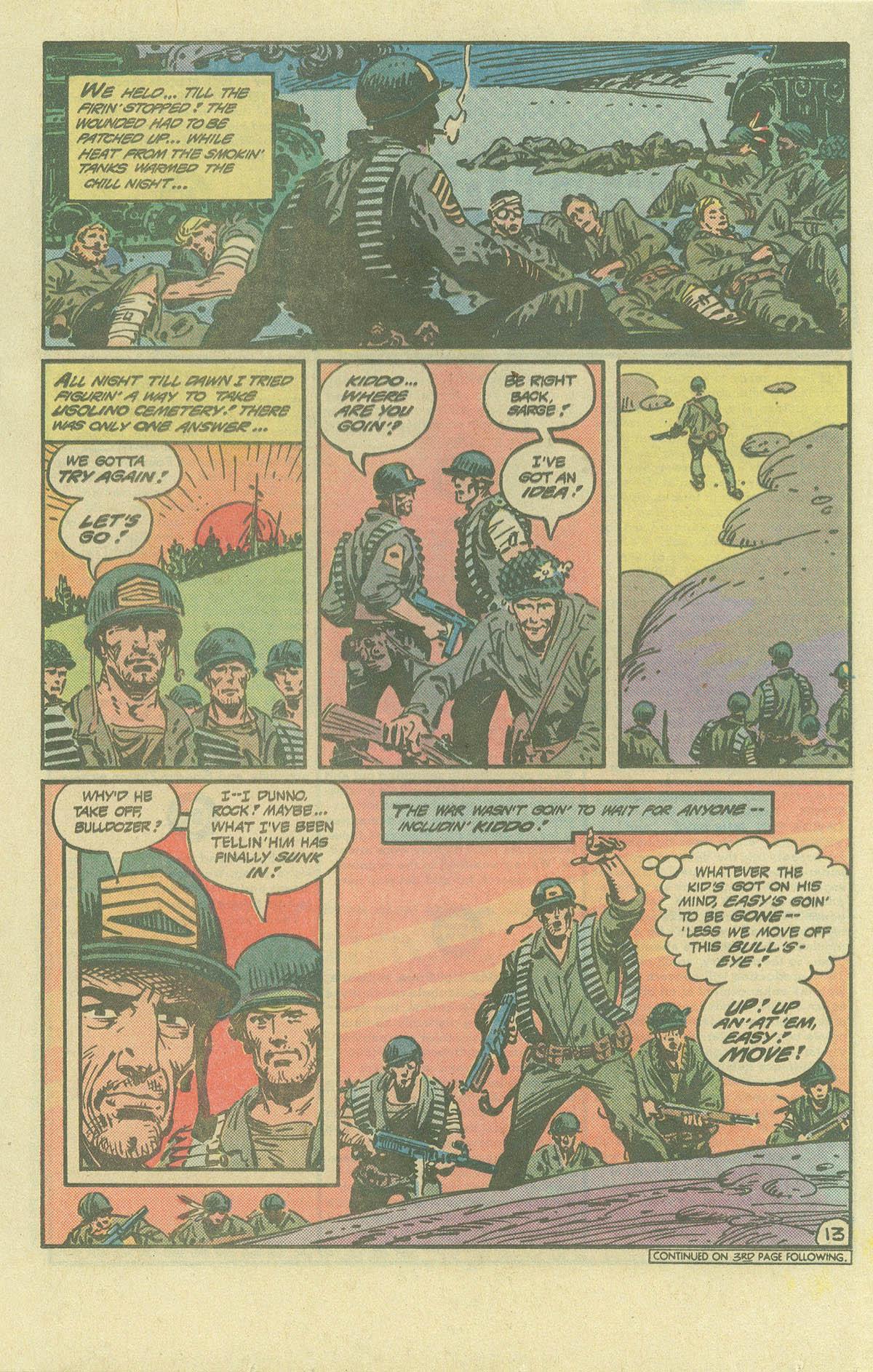 Read online Sgt. Rock comic -  Issue #393 - 13