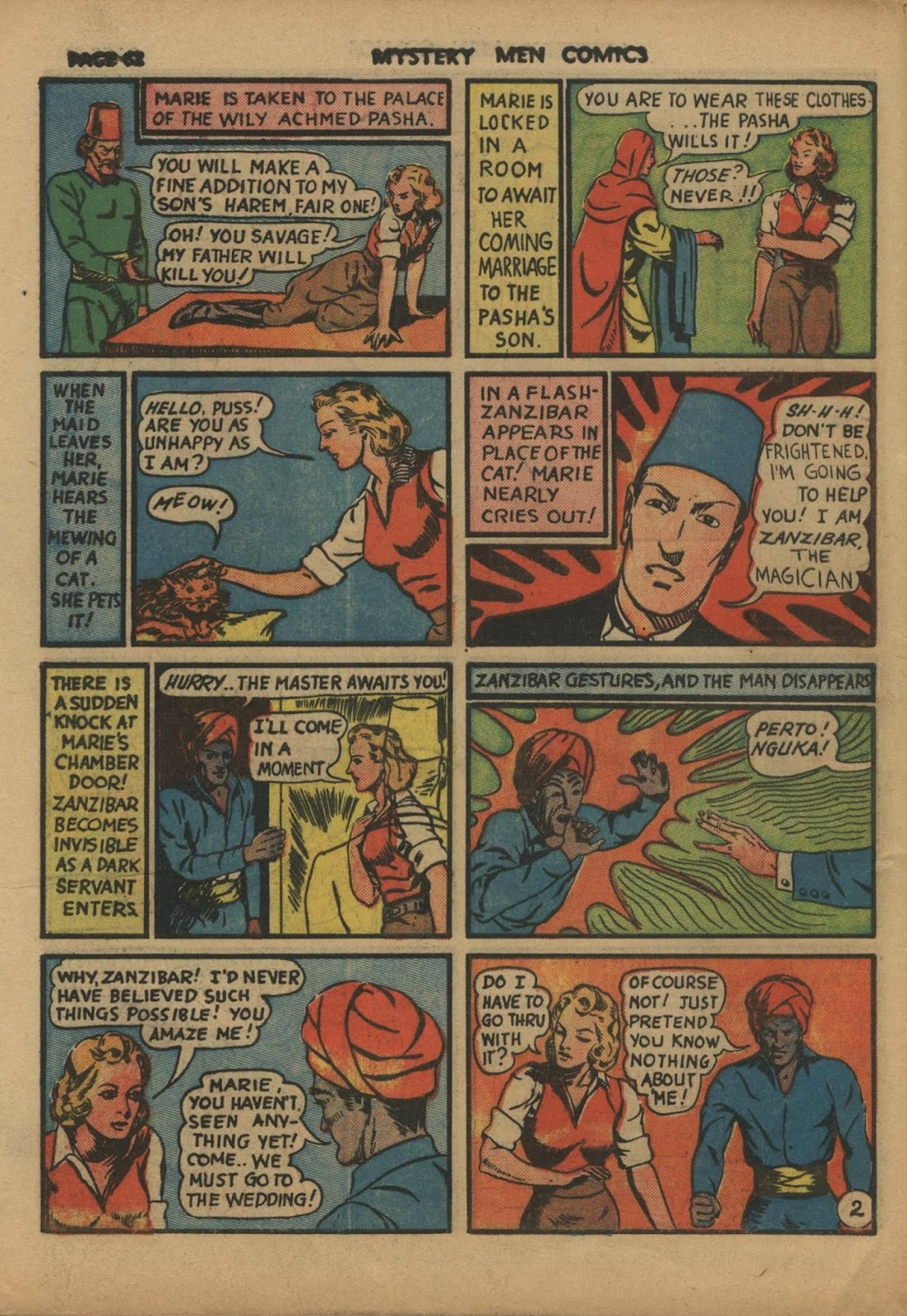 Mystery Men Comics issue 10 - Page 64