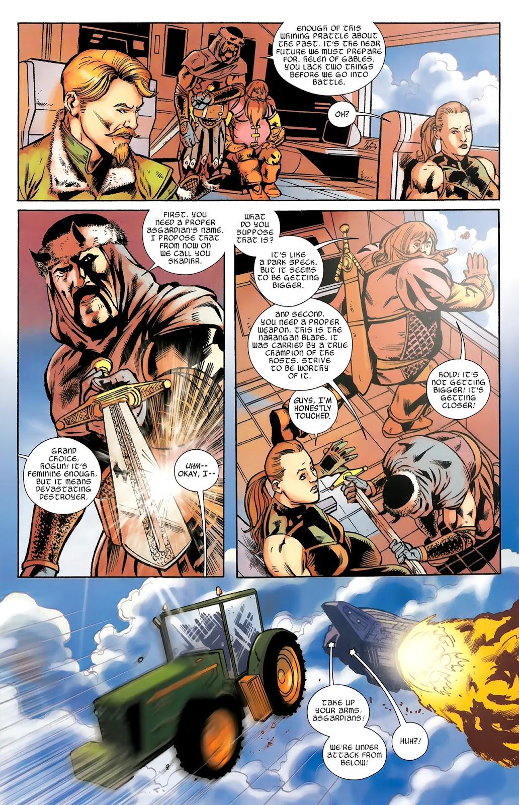 Warriors Three Issue #3 #3 - English 23