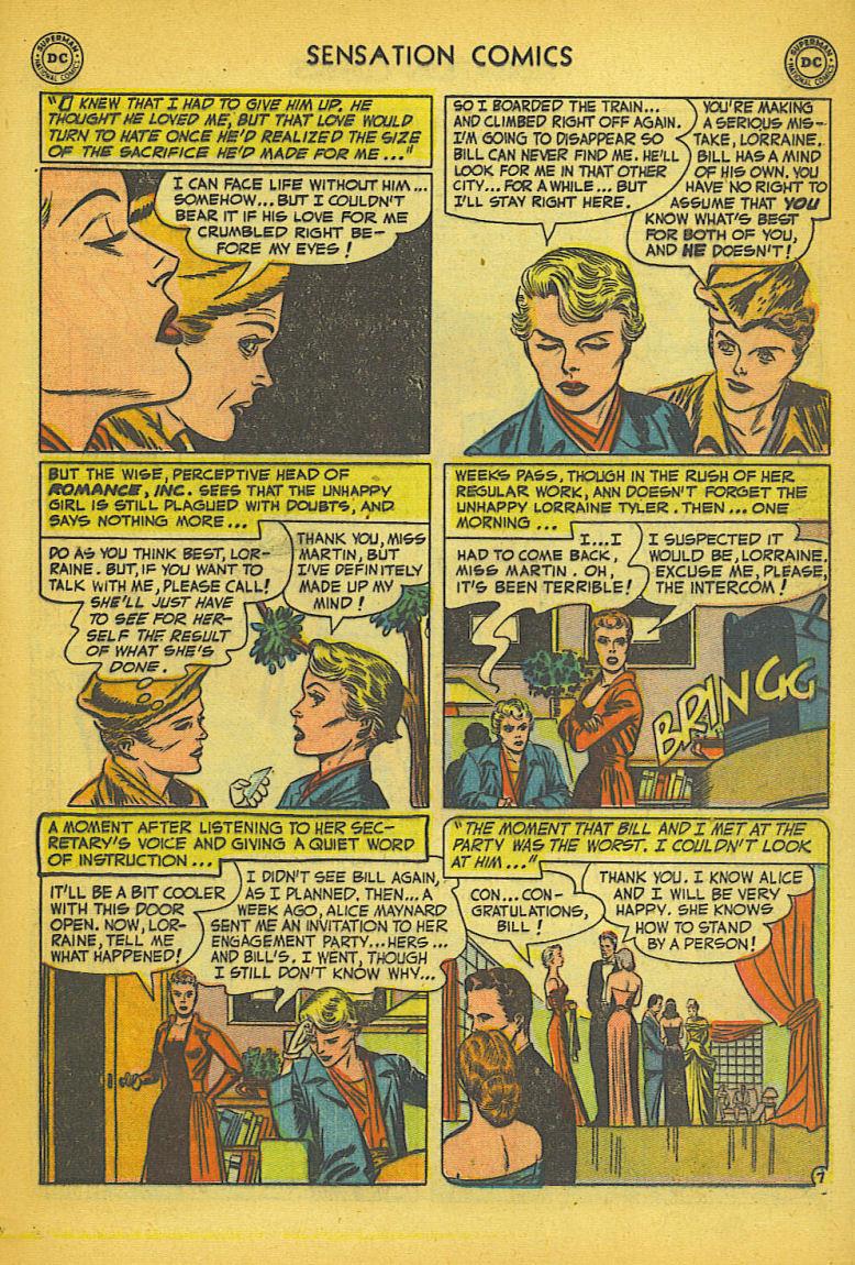 Read online Sensation (Mystery) Comics comic -  Issue #104 - 23