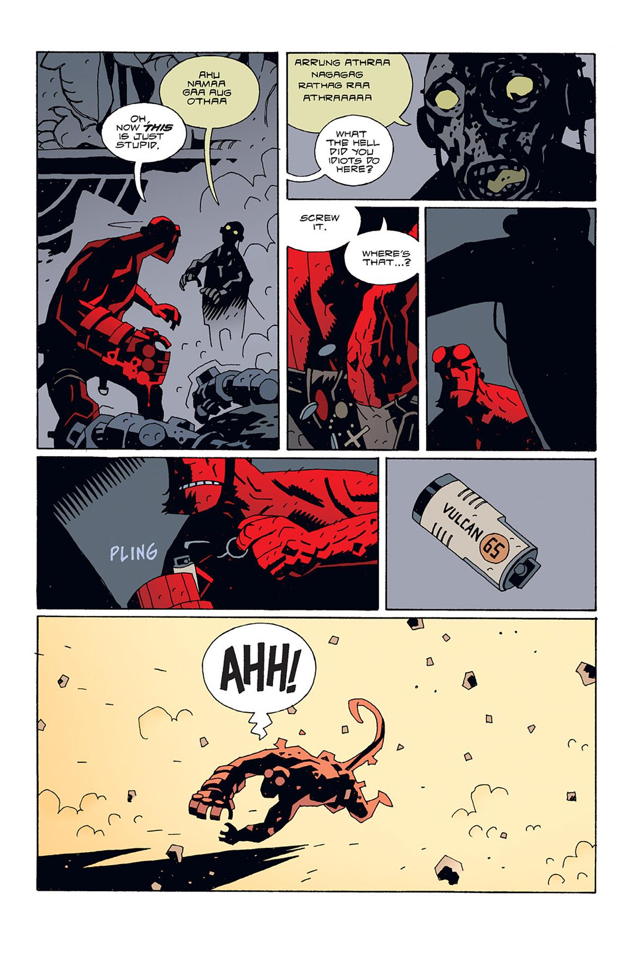 Read online Hellboy: Conqueror Worm comic -  Issue #3 - 22