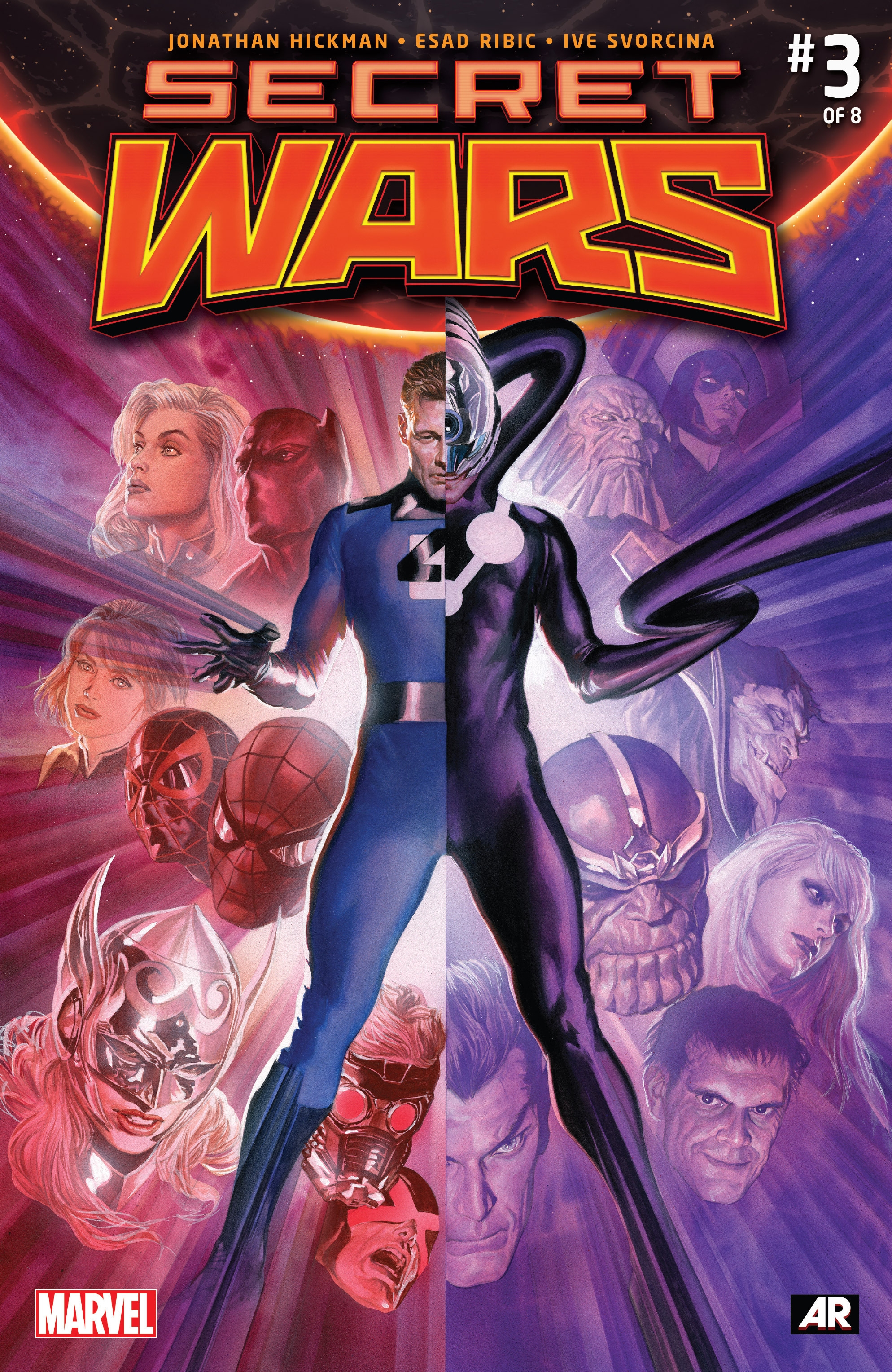 Read online Secret Wars comic -  Issue #3 - 1