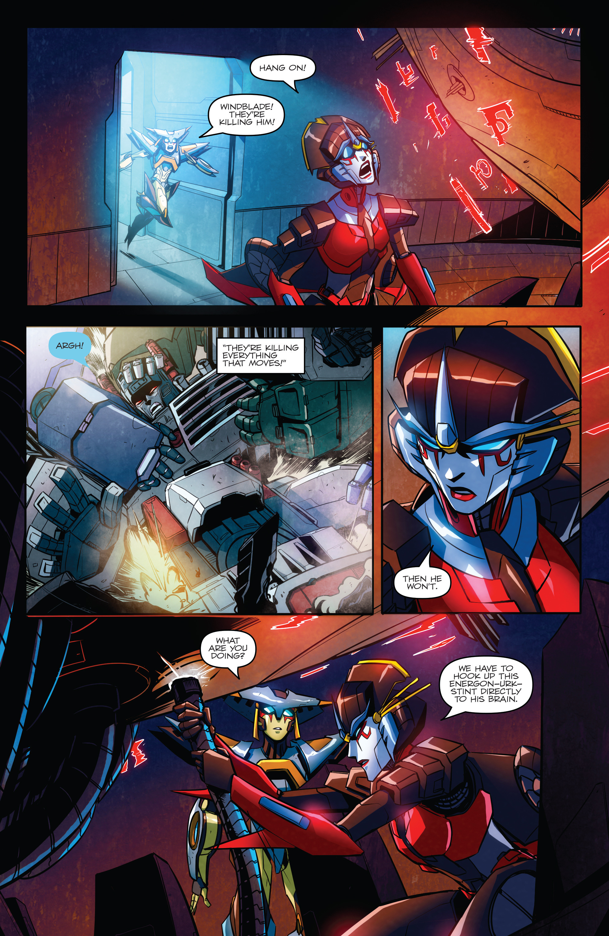 Read online Transformers: Till All Are One comic -  Issue #6 - 10