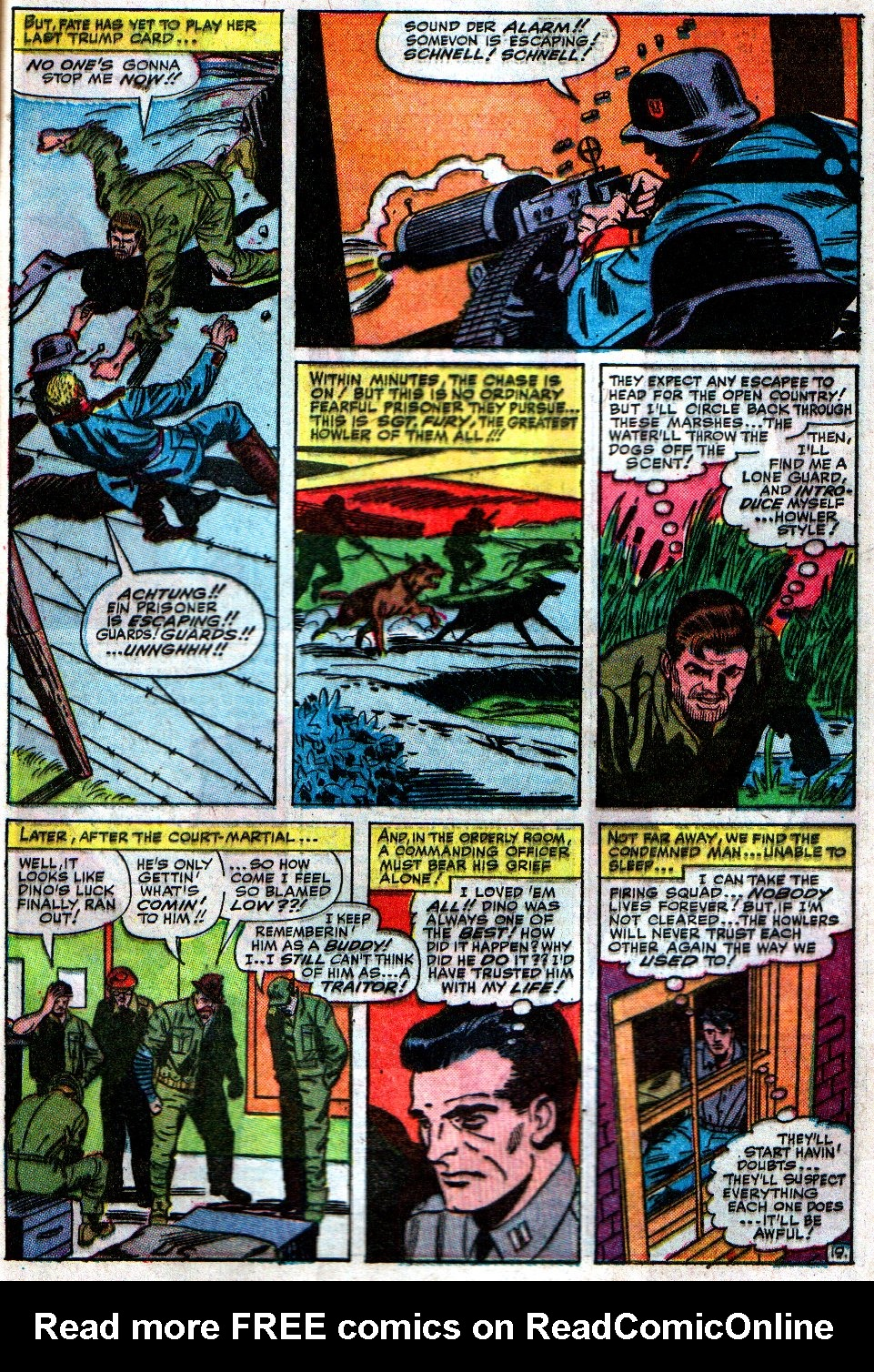 Read online Sgt. Fury comic -  Issue #12 - 29
